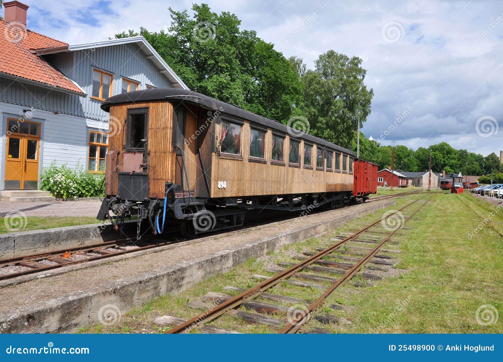 παλαιό τραίνο αυτοκινήτων
