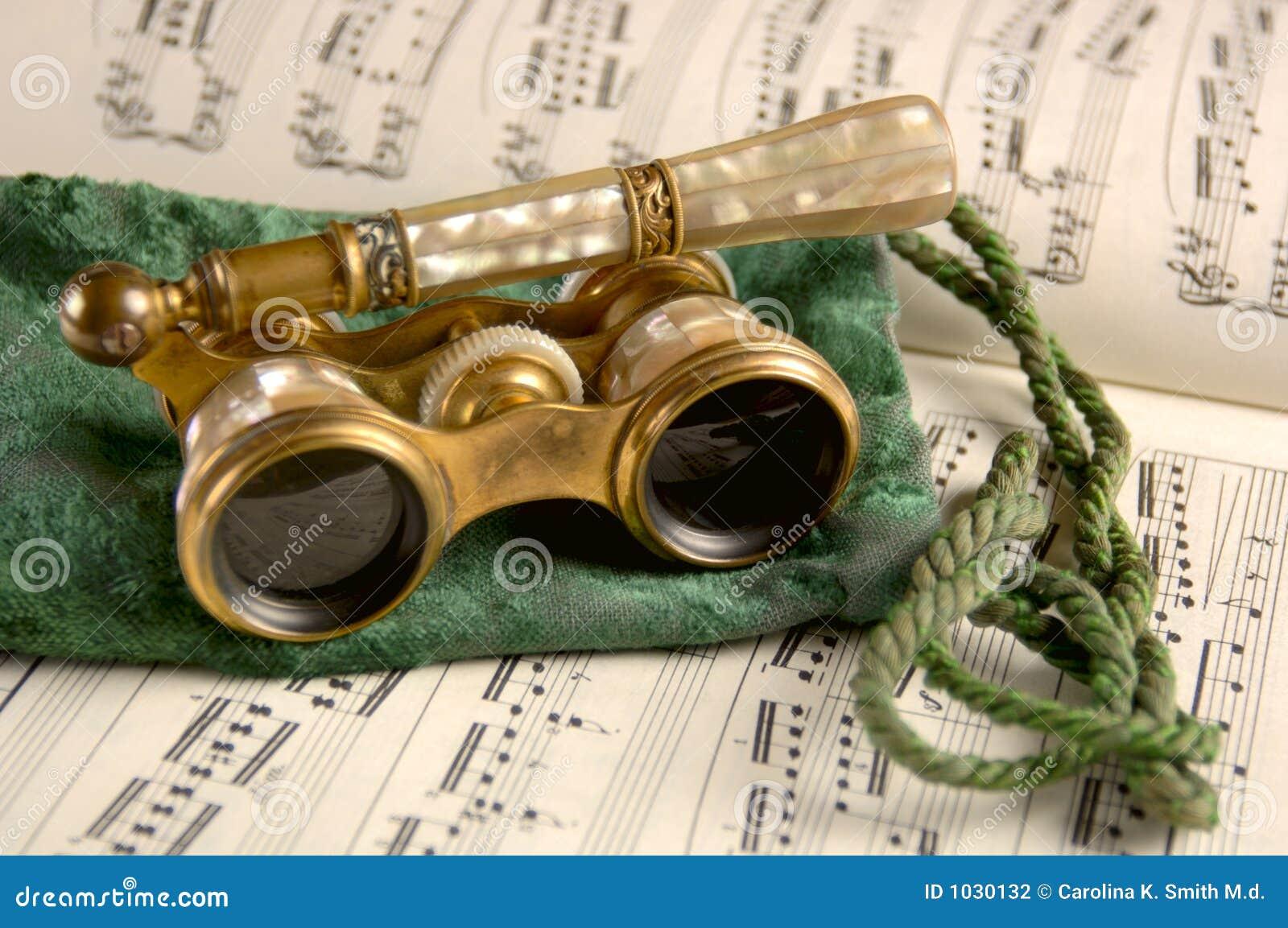 παλαιό φύλλο οπερών μουσ&i