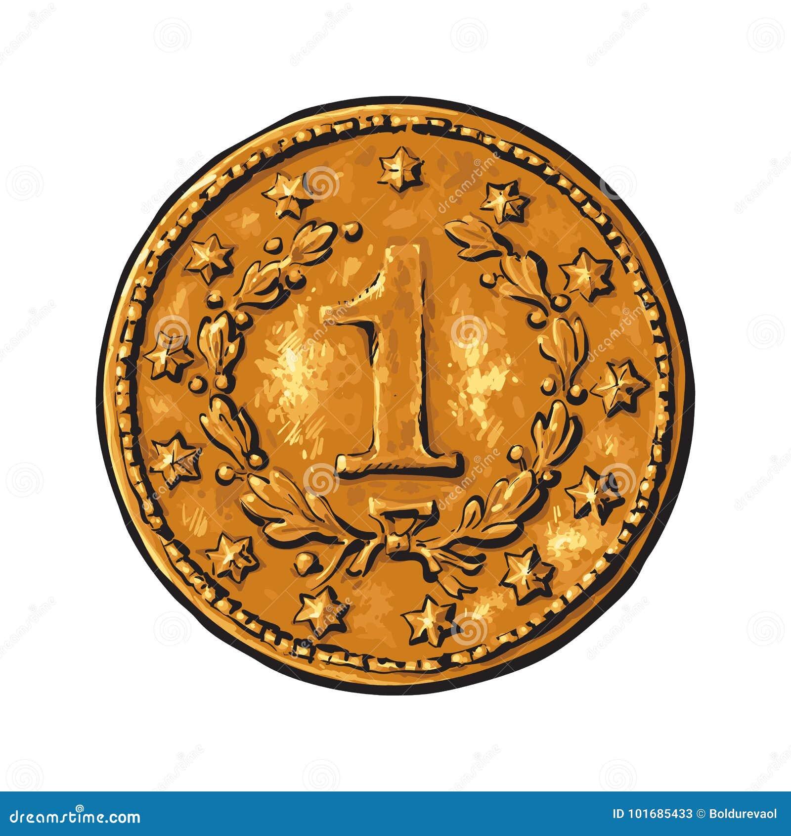 Παλαιό χρυσό νόμισμα
