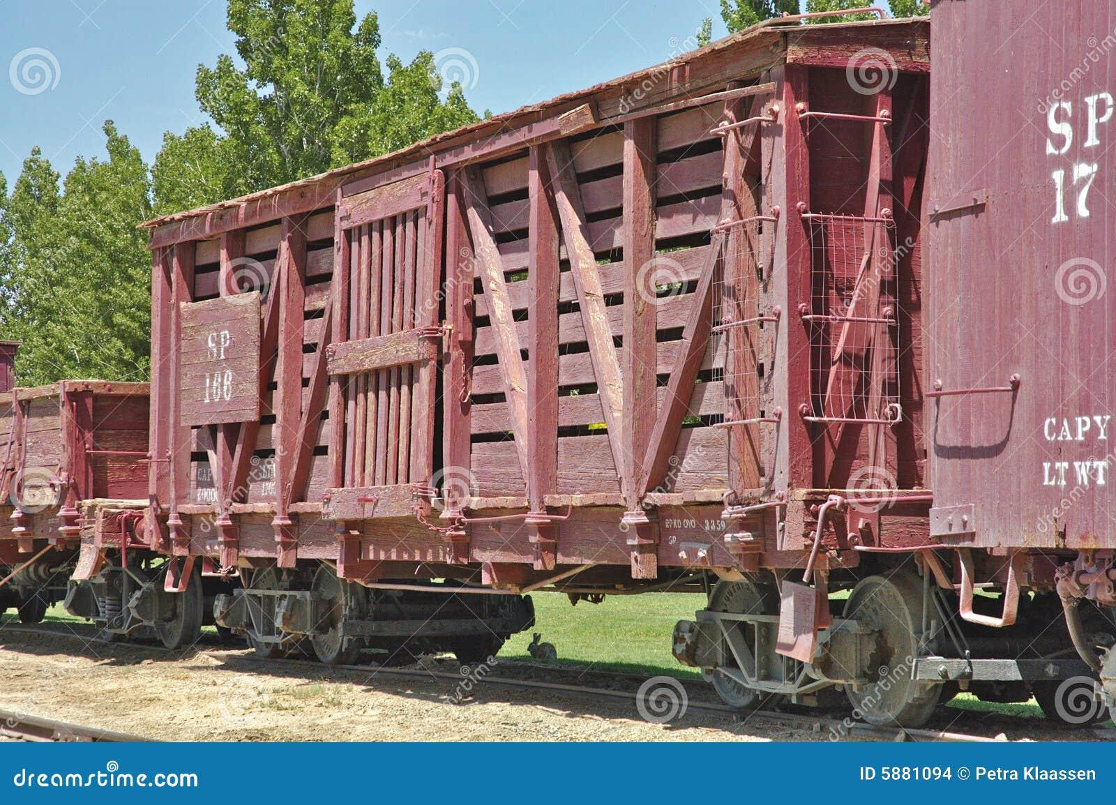 Παλαιό boxcar σιδηροδρόμου