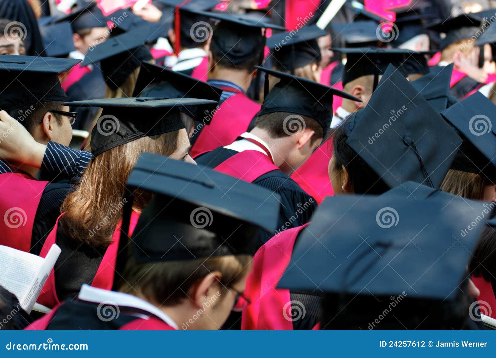 Πανεπιστήμιο του Harvard πτυχιούχων ημέρας έναρξης