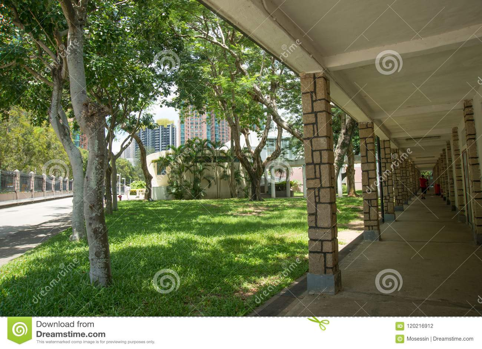 Πανεπιστημιακός διάδρομος κοιτώνων Χονγκ Κονγκ