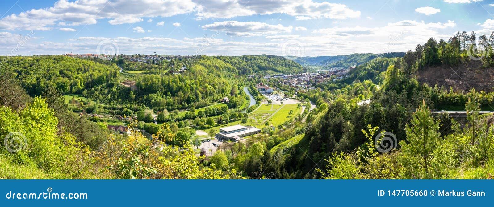 πανοραμική άποψη σε Sulz Γερμανία