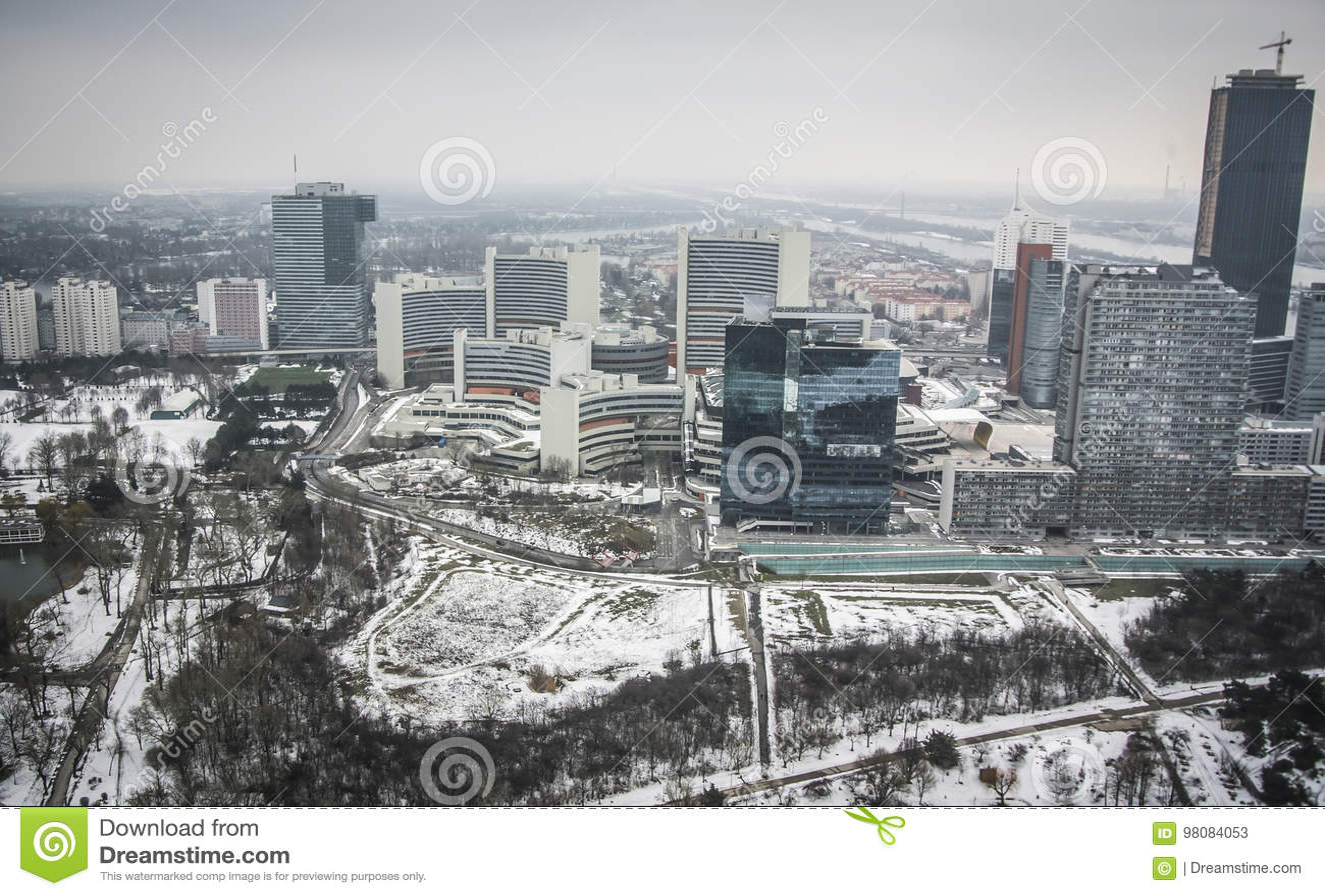 Πανοραμική άποψη της Βιέννης