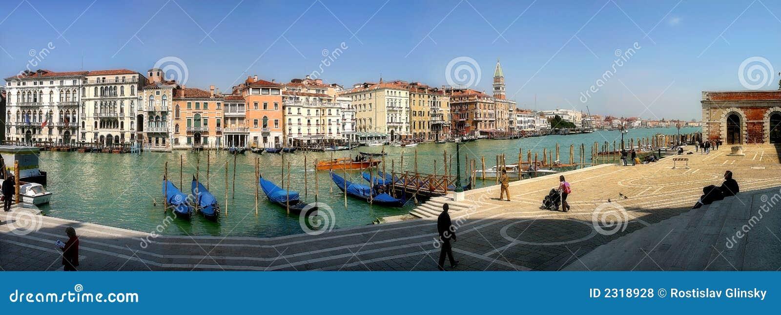 πανοραμική Βενετία καναλ