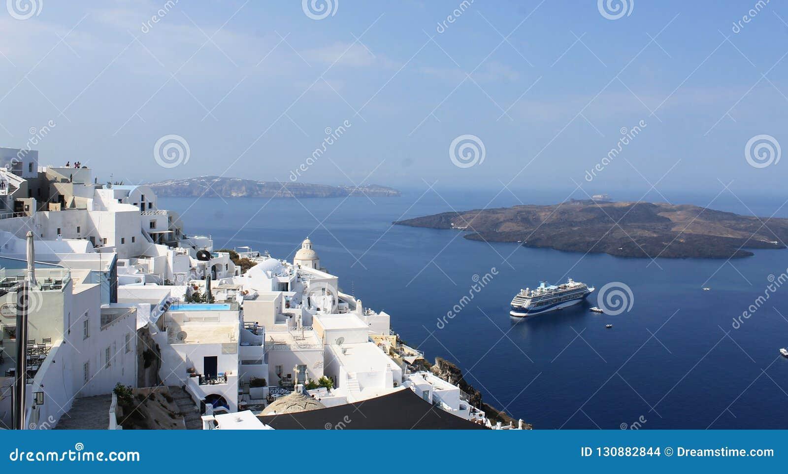 Πανόραμα από Santorini