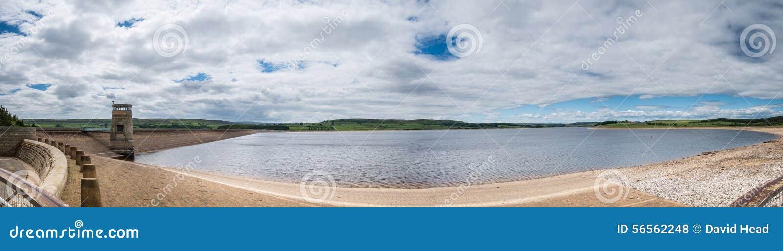 Download Πανόραμα δεξαμενών Derwent στοκ εικόνες. εικόνα από durham - 56562248
