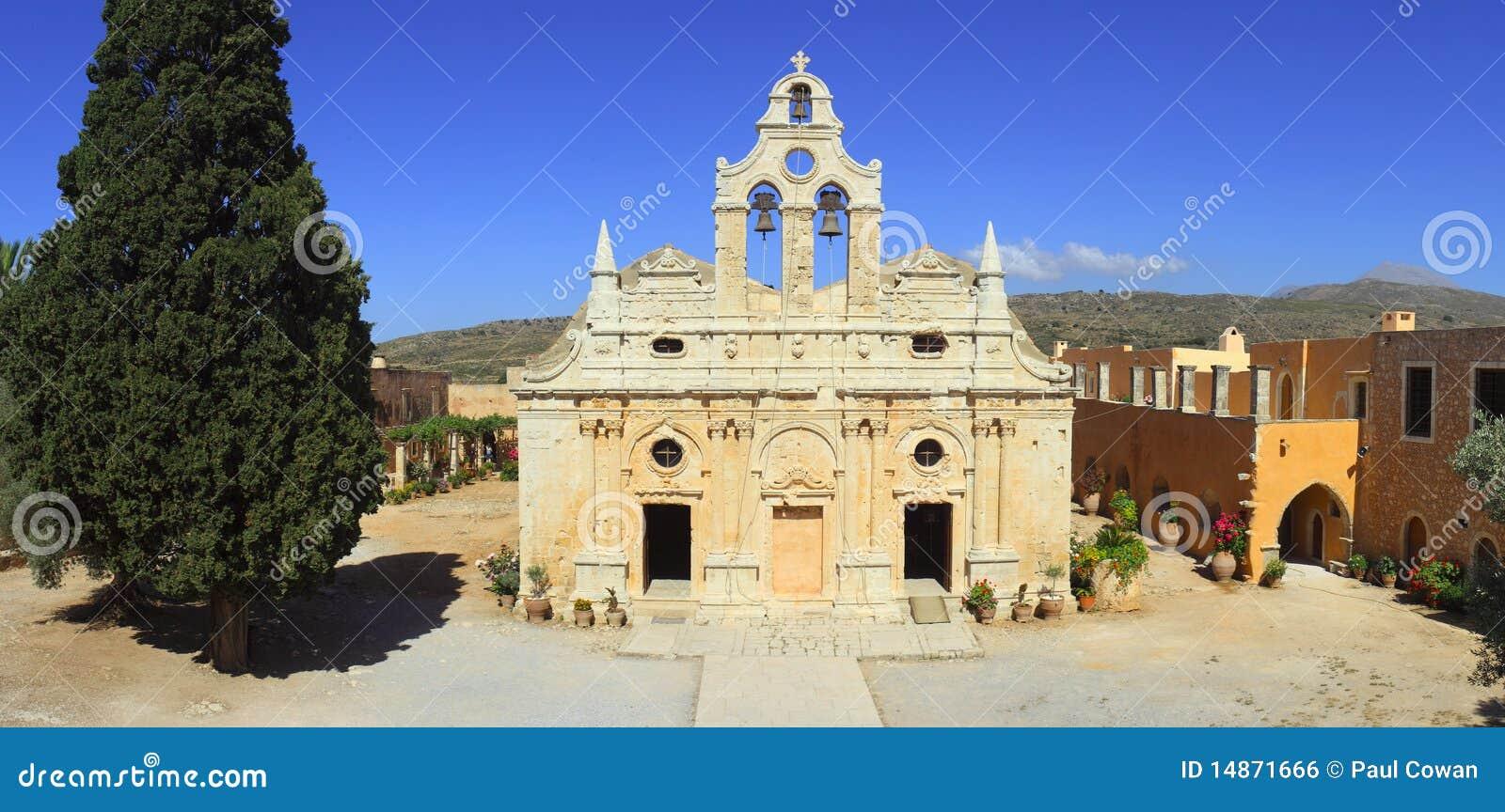 πανόραμα μοναστηριών arkadi