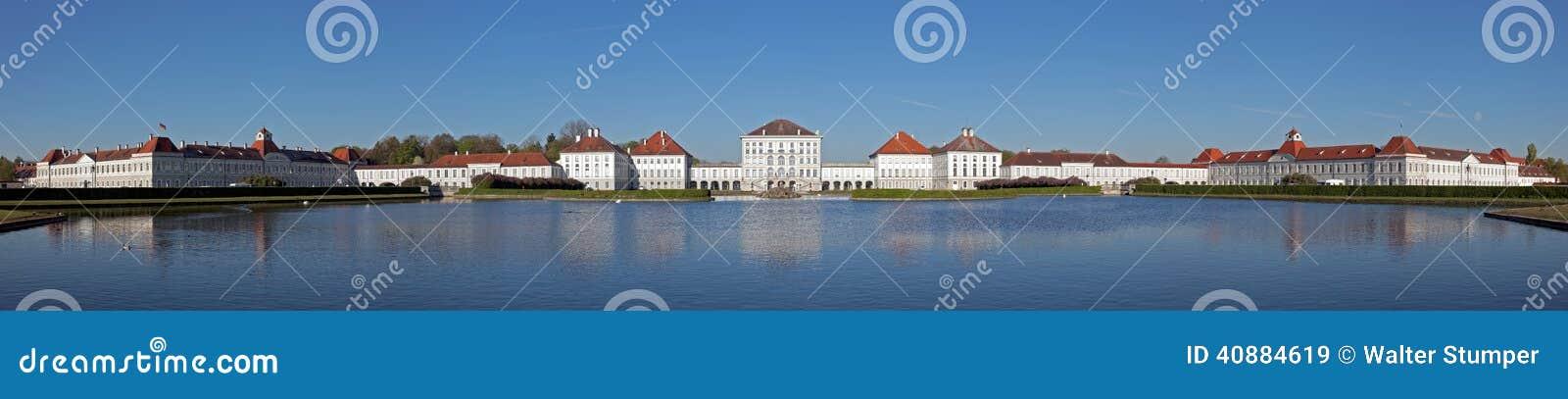 Πανόραμα Nymphenburg Castle στο Μόναχο