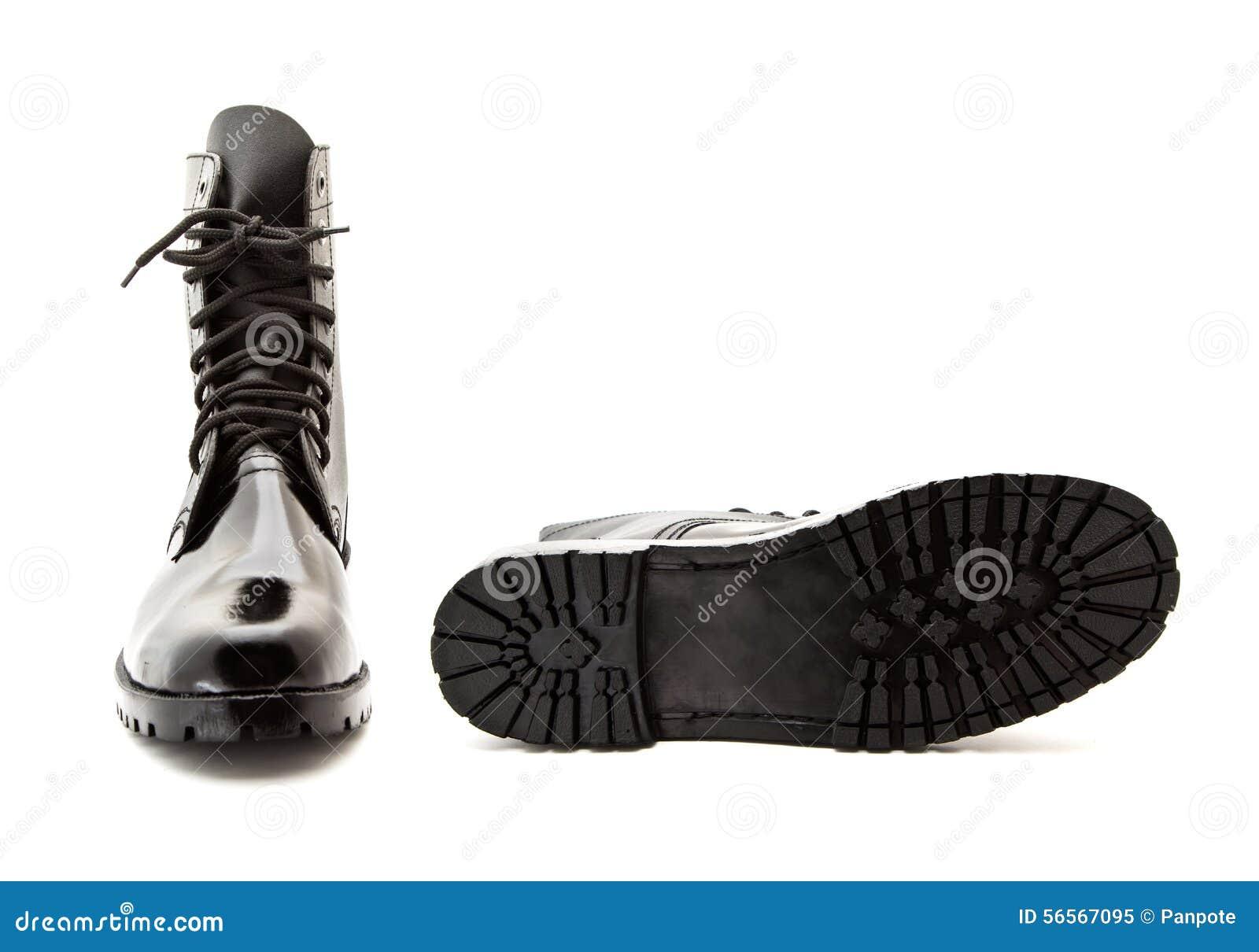 Download Παπούτσι στρατιωτών στοκ εικόνα. εικόνα από ένδυση, ιματισμός - 56567095
