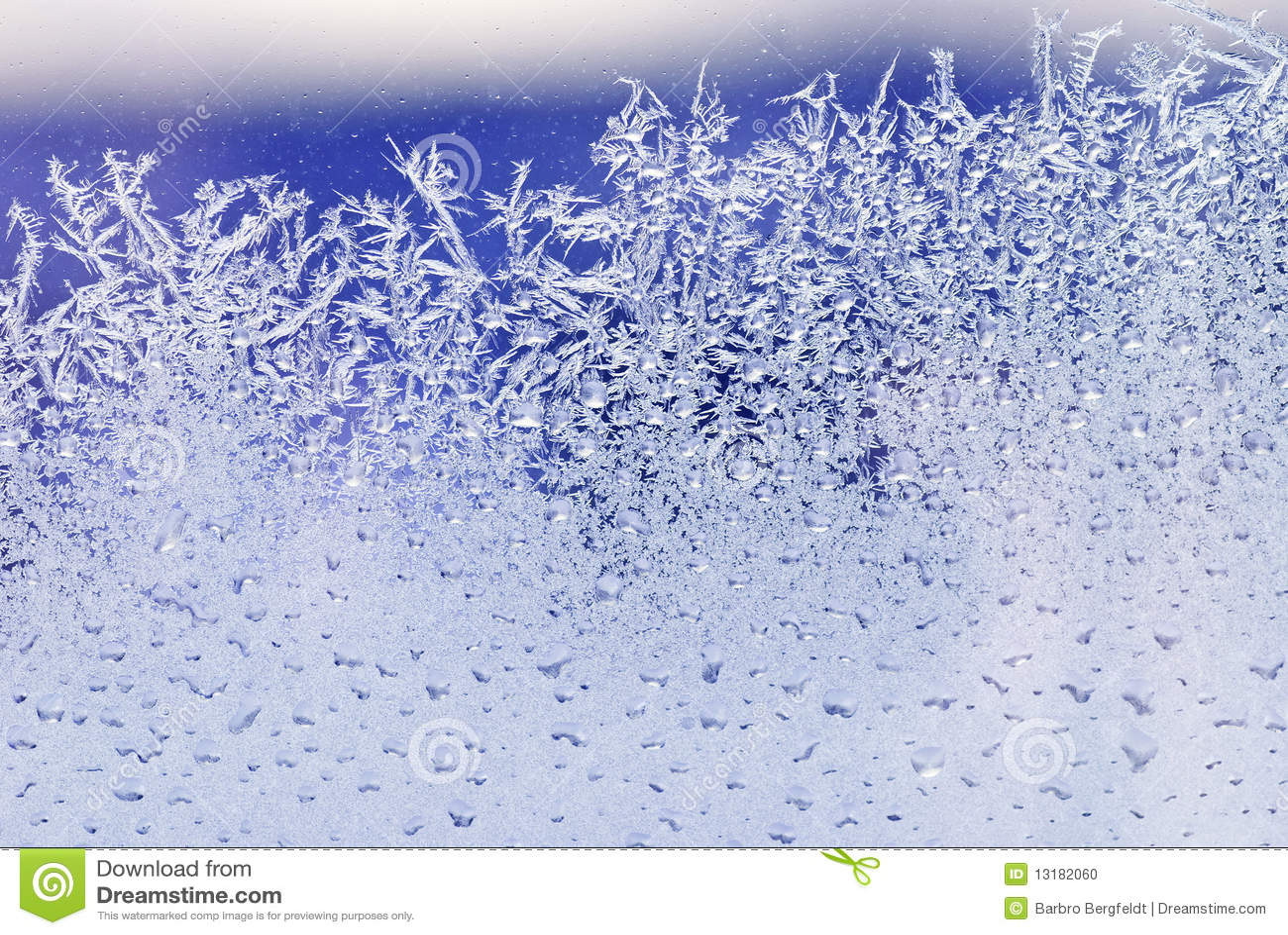 παράθυρο πάγου κρυστάλλ&