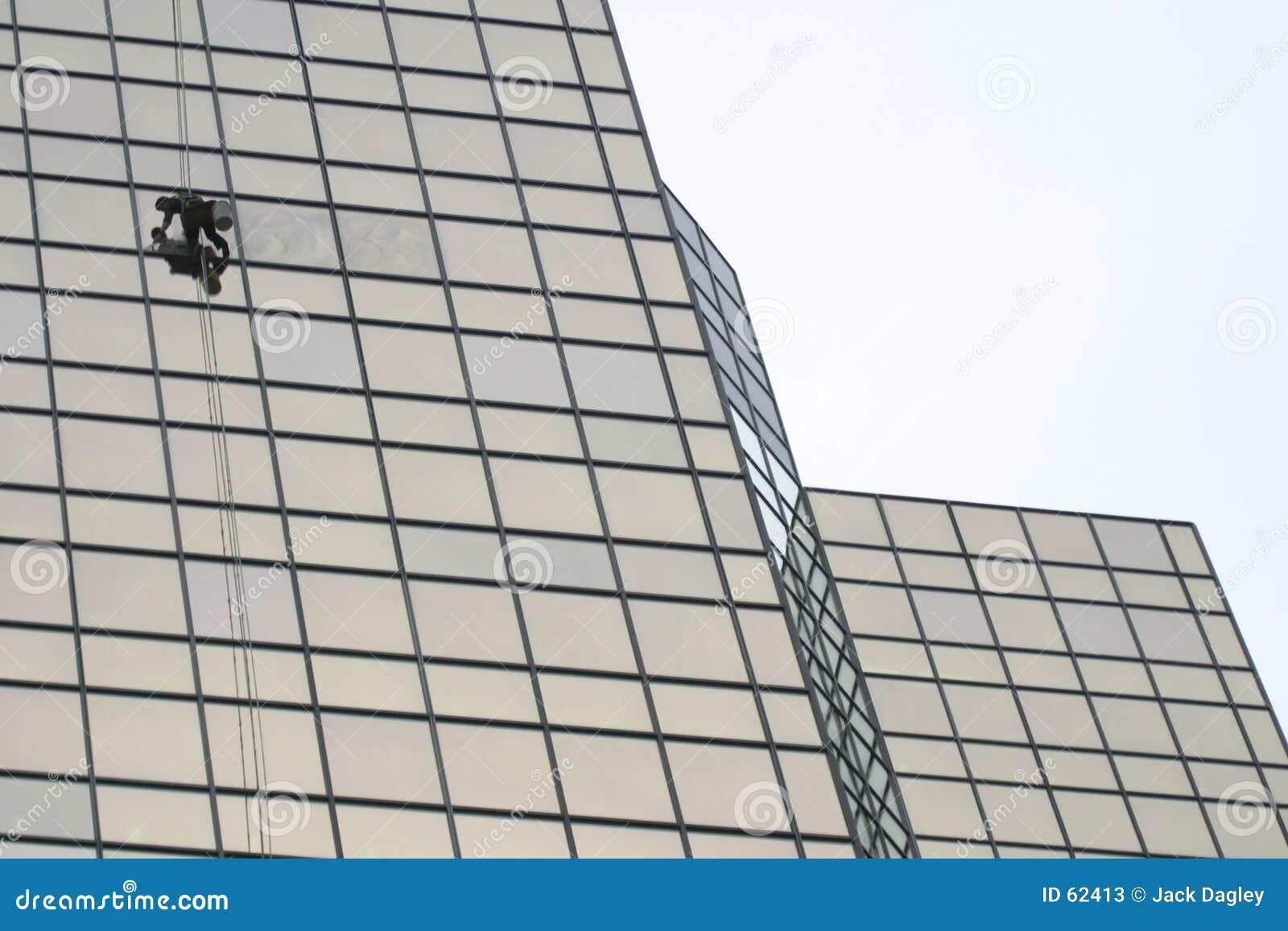Download παράθυρο πλυντηρίων στοκ εικόνα. εικόνα από laborer, πόλη - 62413