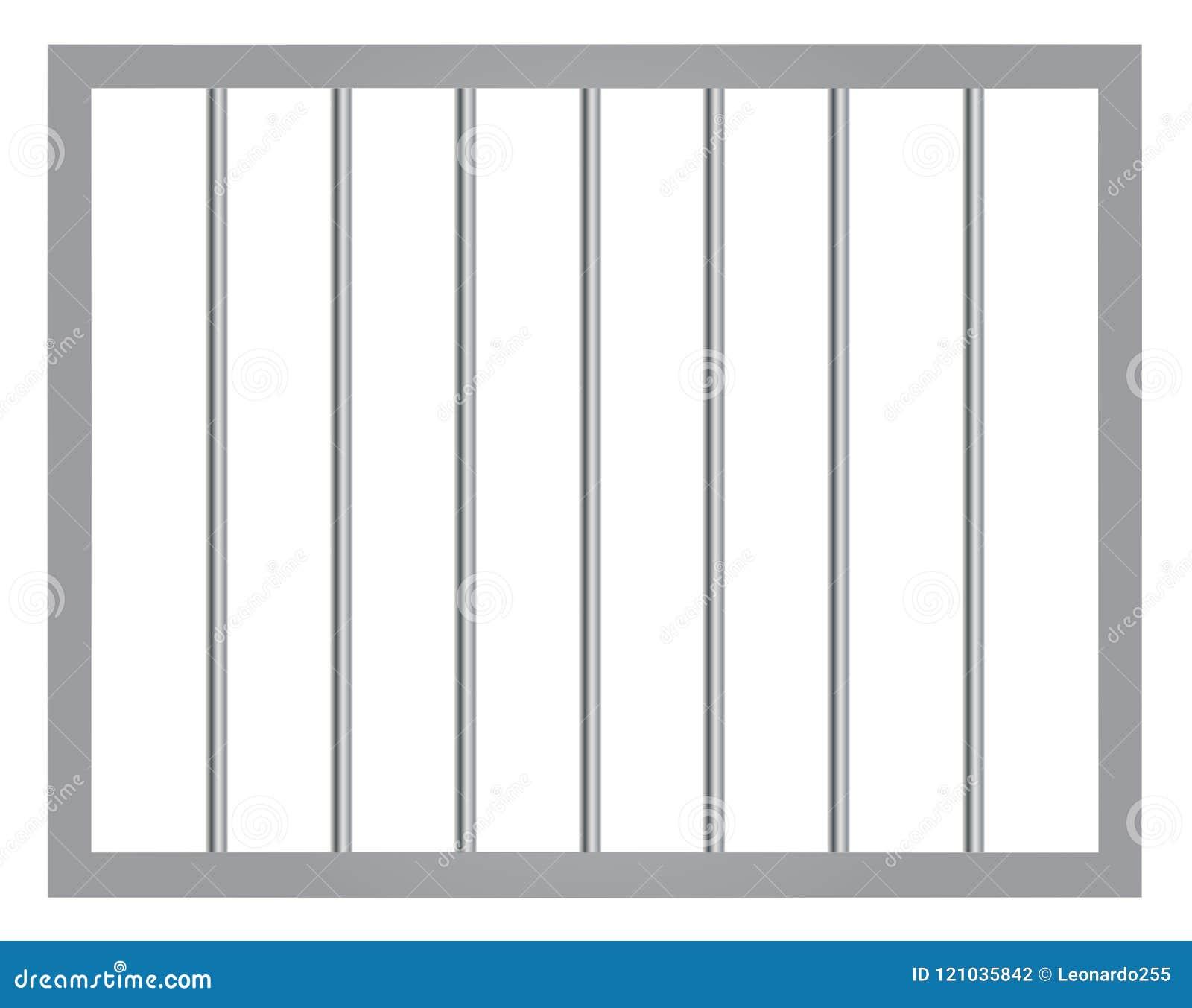 Παράθυρο στη φυλακή με τους φραγμούς