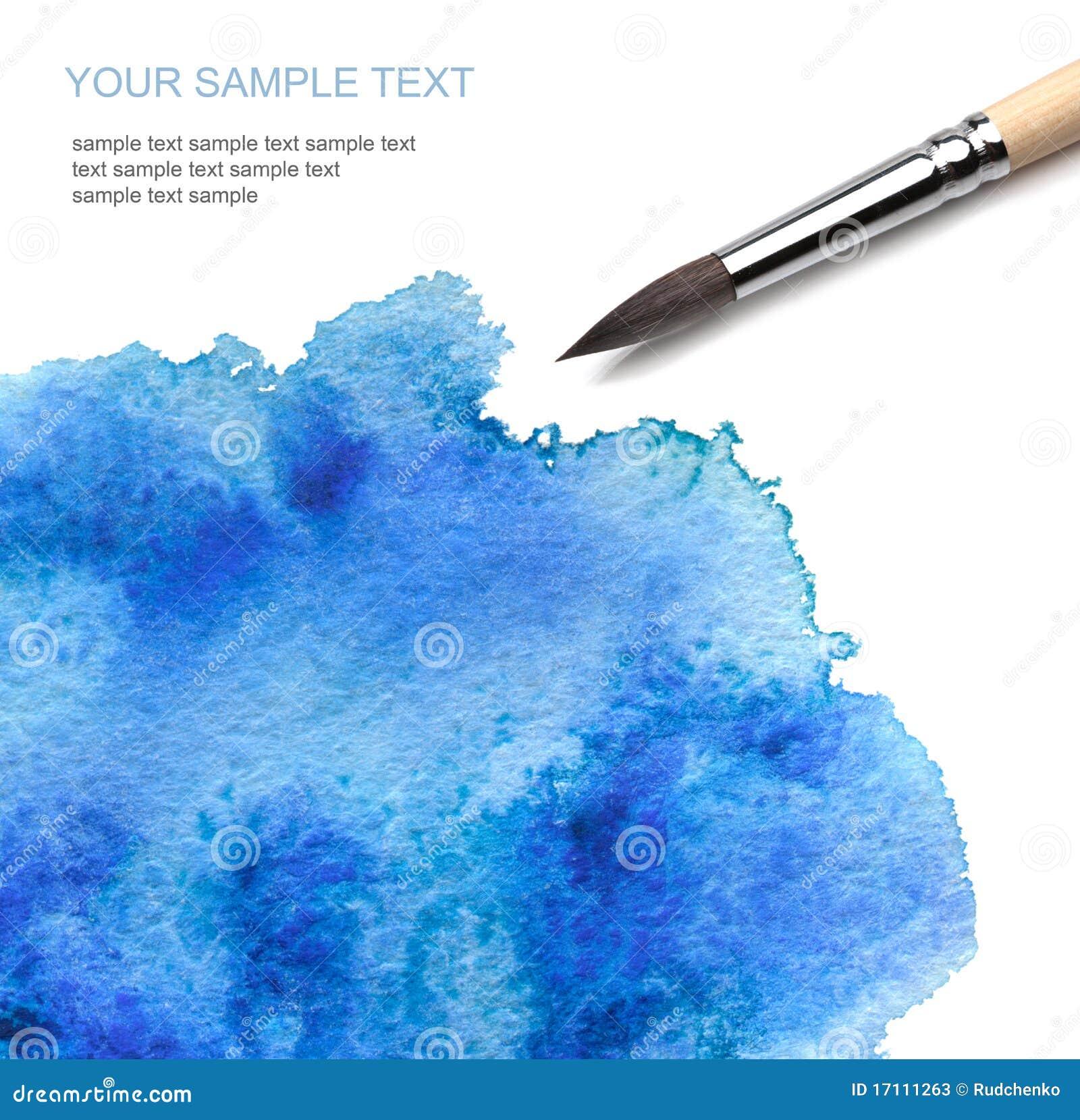 παράτολμο watercolor χρωμάτων