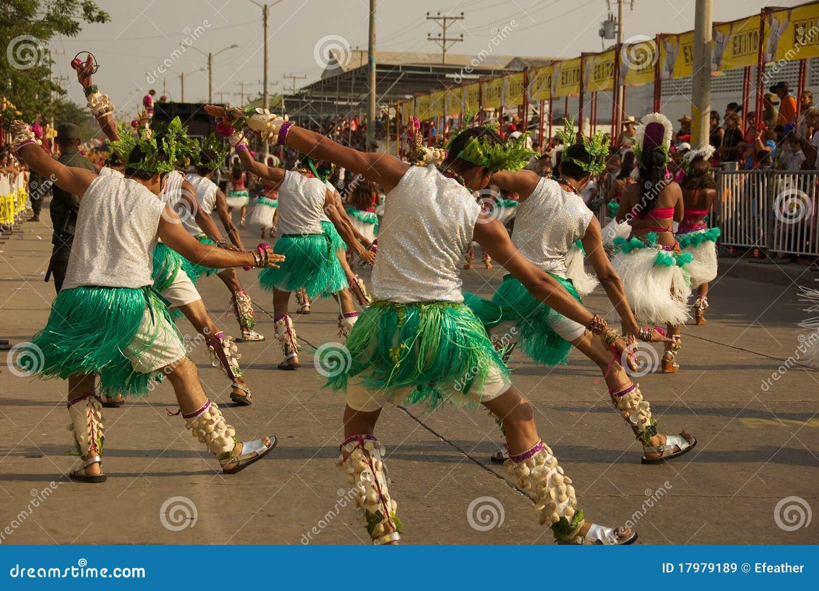 παρέλαση του Barranquilla καρναβάλ&io