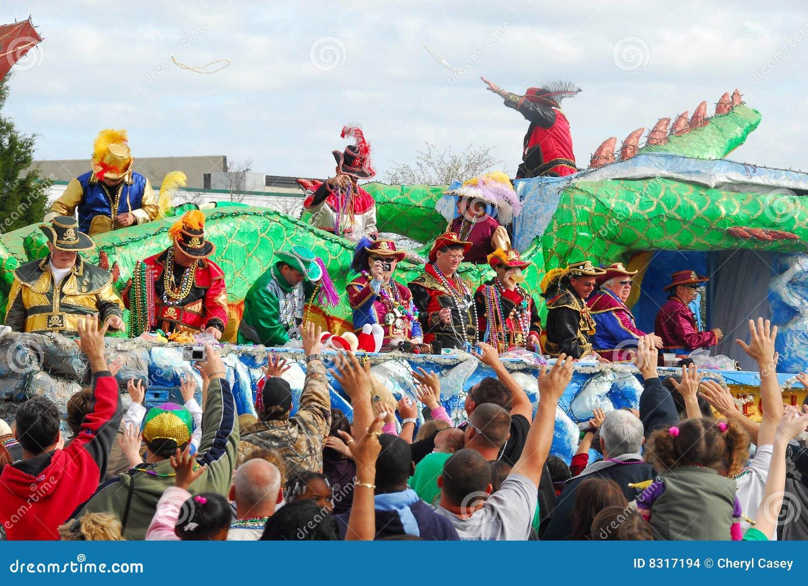 παρέλαση mardi gras
