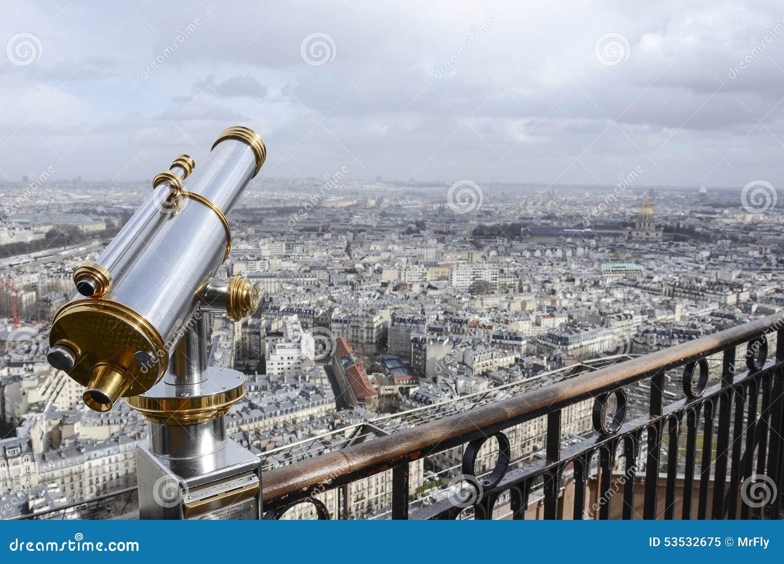 Παρίσι μέσω του τηλεσκοπίου