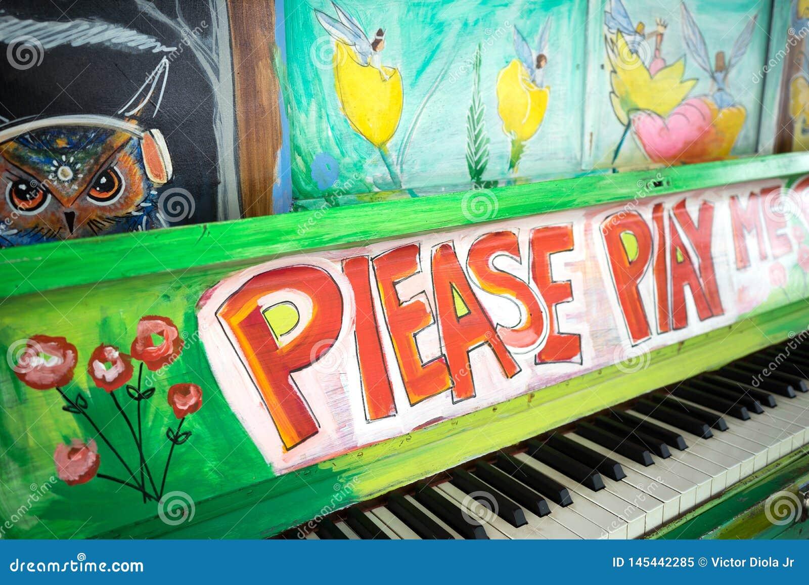 Παρακαλώ με παίξτε πιάνο