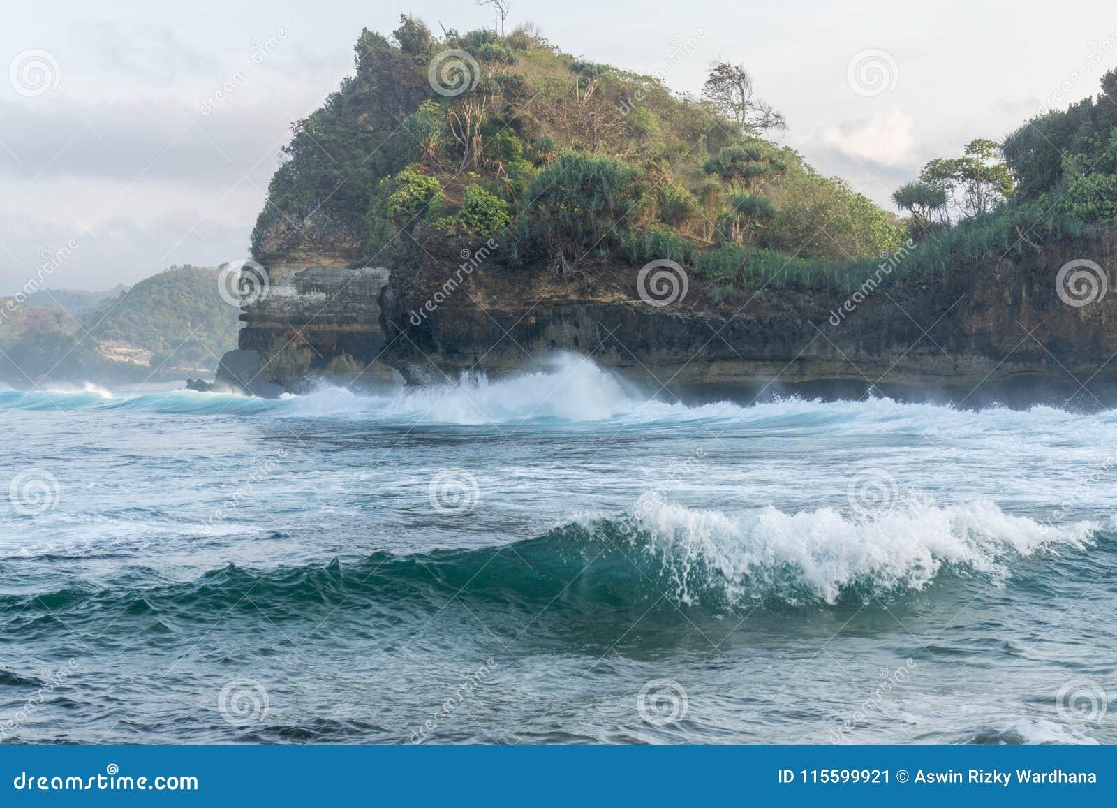 Παραλία Μαλάνγκ Ινδονησία Bengkung Batu
