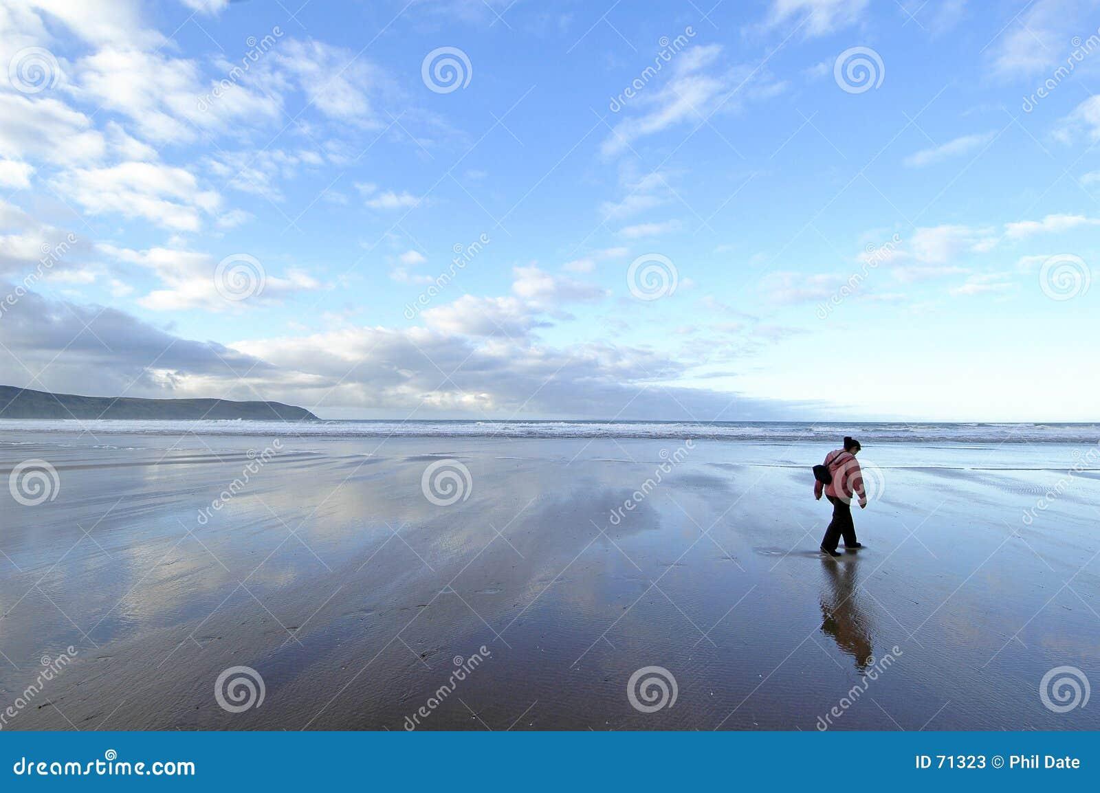 παραλία μόνη