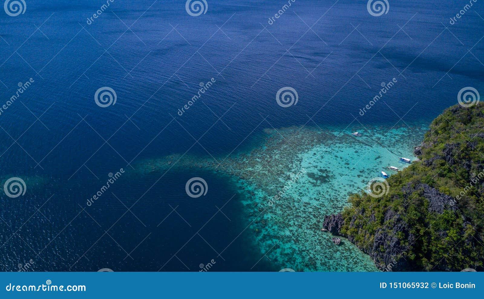 Παραλία τροπικές Φιλιππίνες Ασία