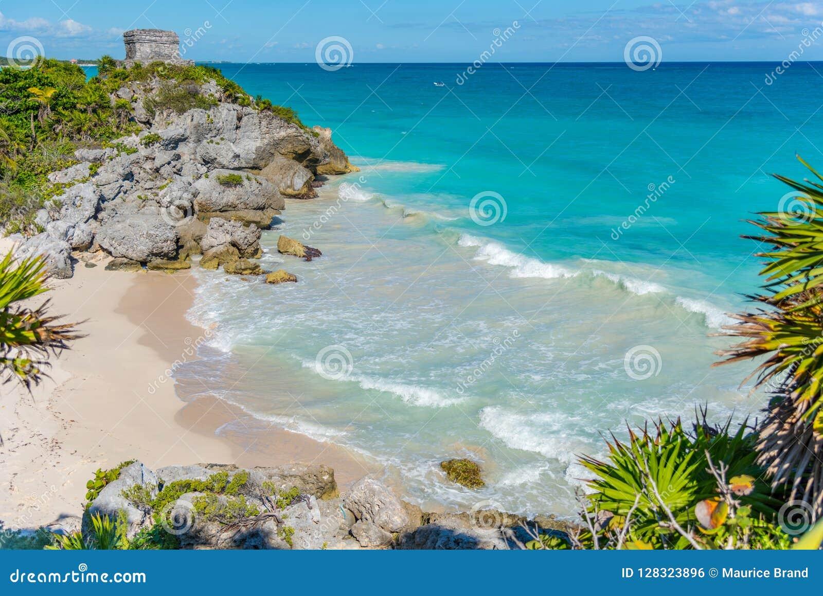 Παραλία Tulum στο Μεξικό Αμερική