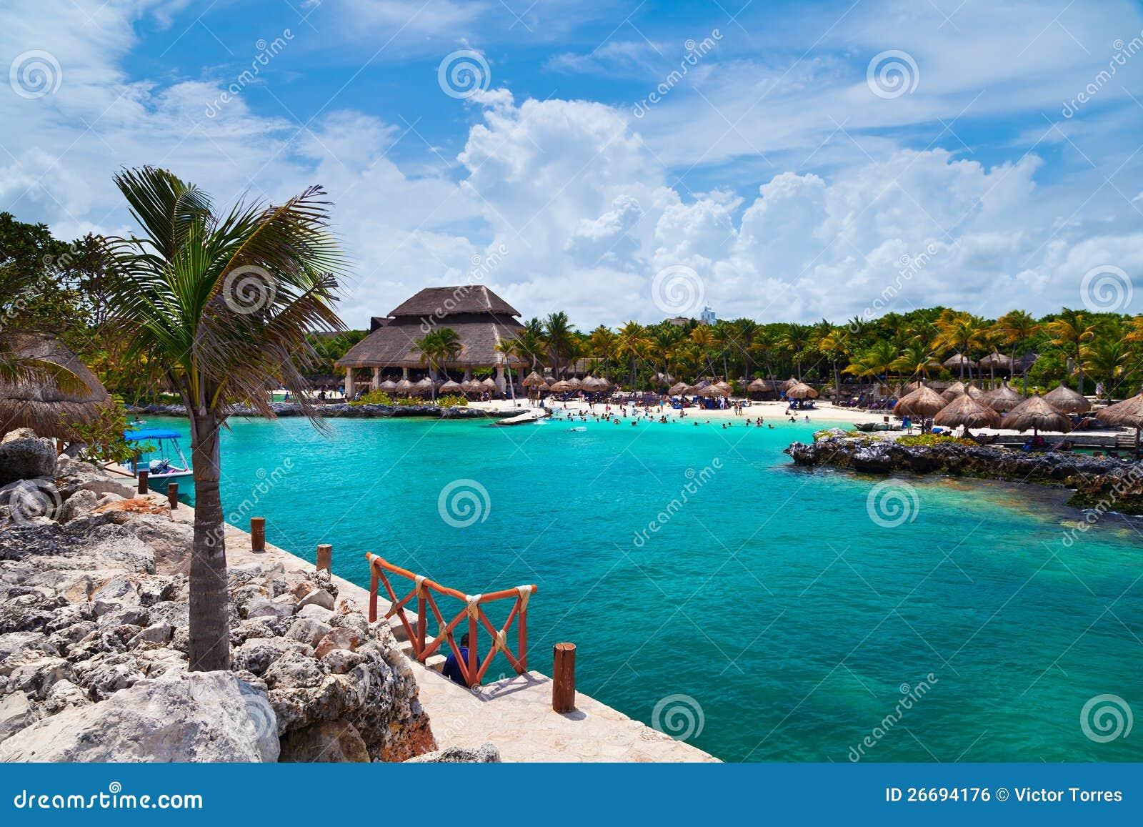 Παραλία Xcaret στο Mayan Riviera