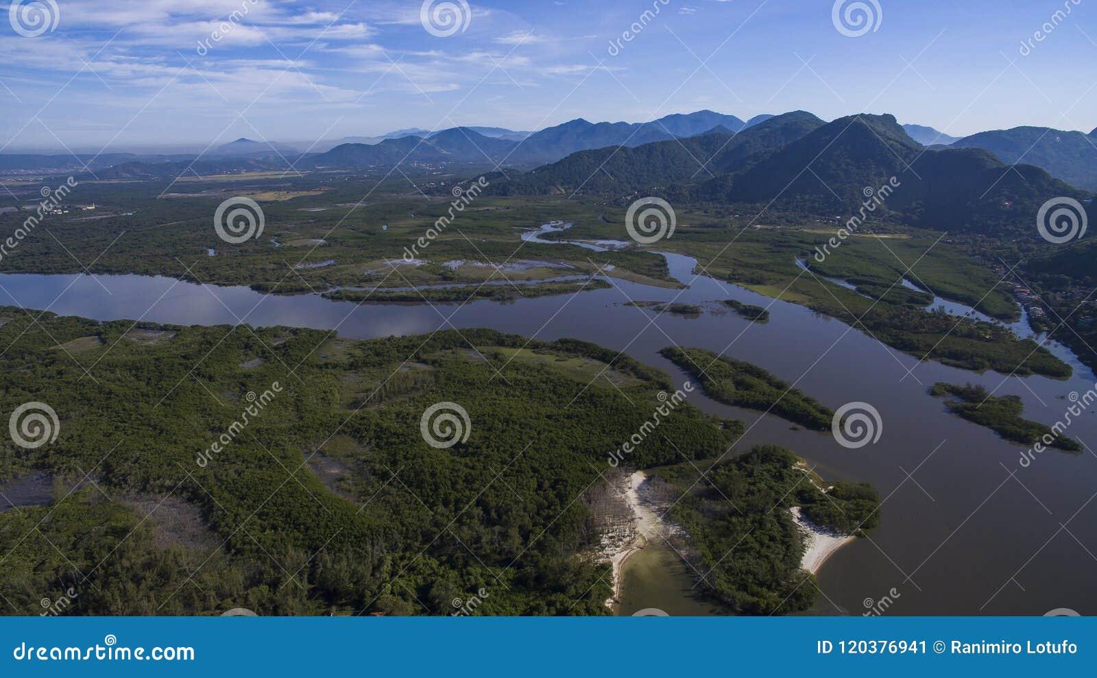 Παραλίες και παραδεισιακές θέσεις, θαυμάσιες παραλίες σε όλο τον κόσμο, Restinga της παραλίας Marambaia, Ρίο ντε Τζανέιρο, Βραζιλ