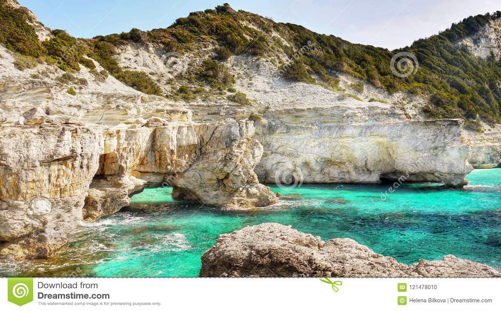 Παραλίες τοπίων ακτών, ελληνικά νησιά, Κυκλάδες