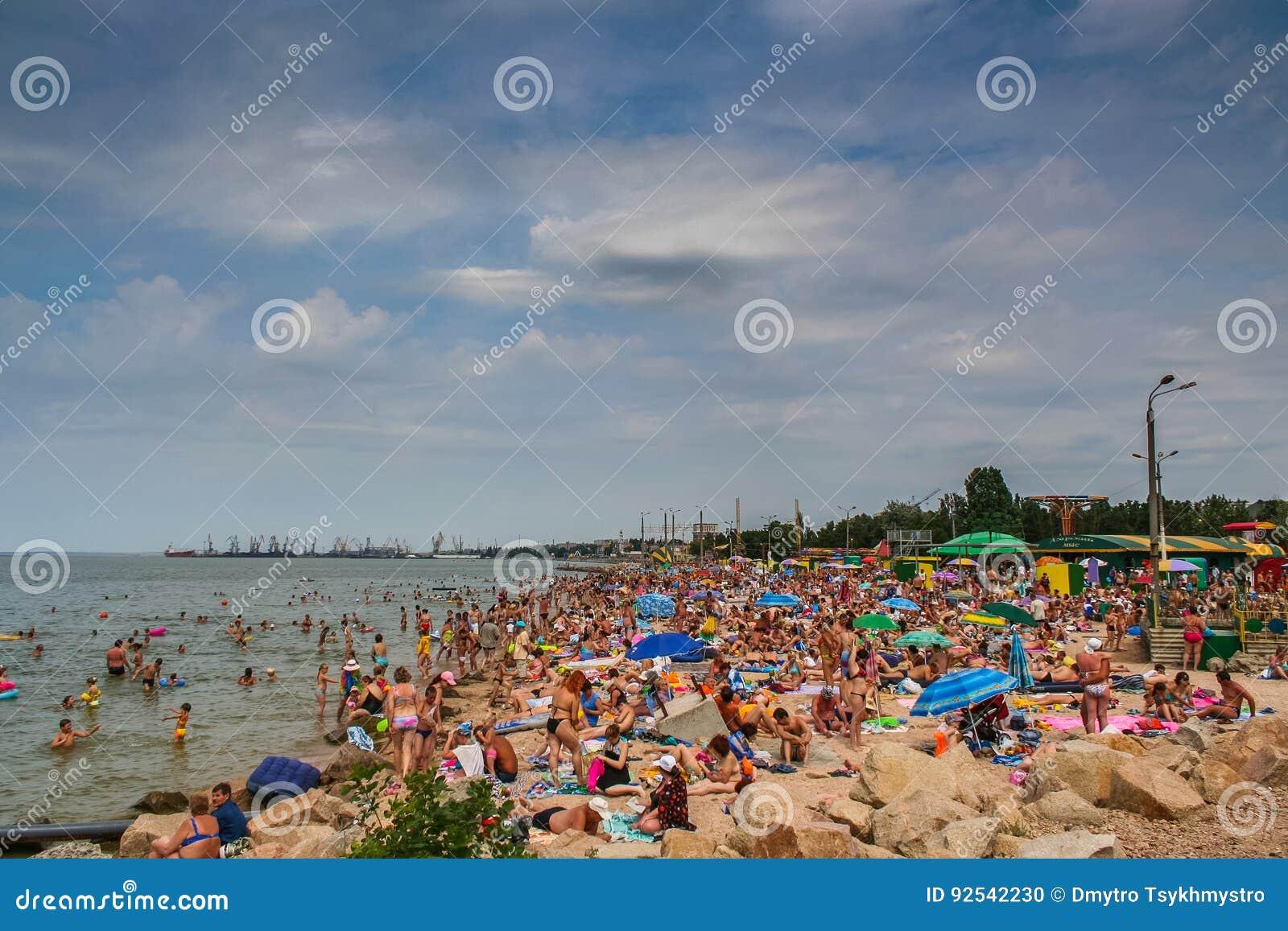 Παραλία πόλεων σε Berdyansk