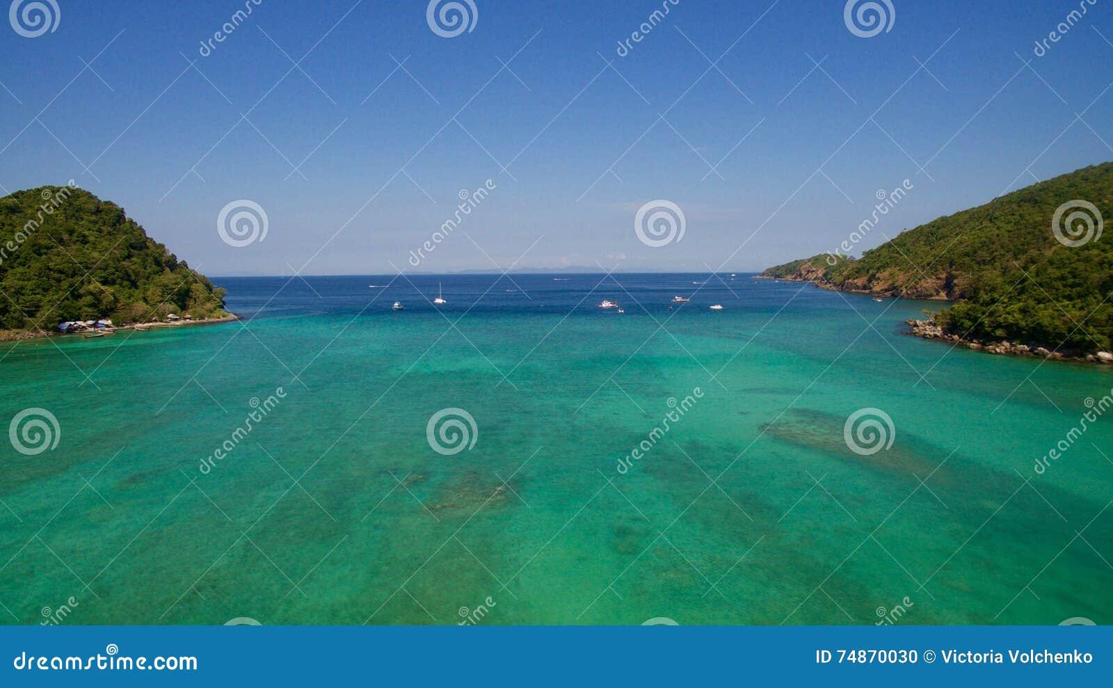 παραλία στην Ταϊλάνδη