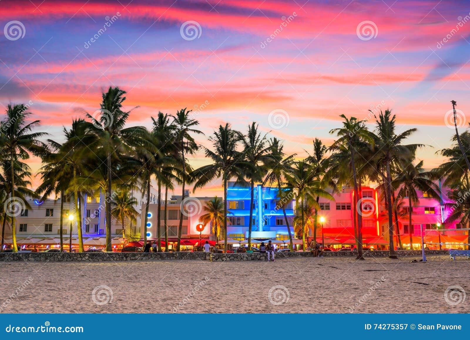 παραλία Φλώριδα Μαϊάμι