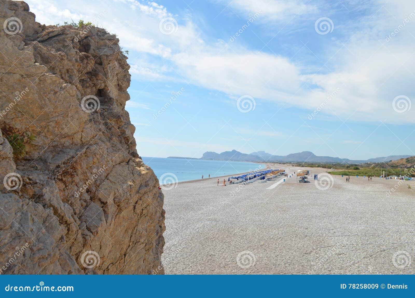παραλία δύσκολη