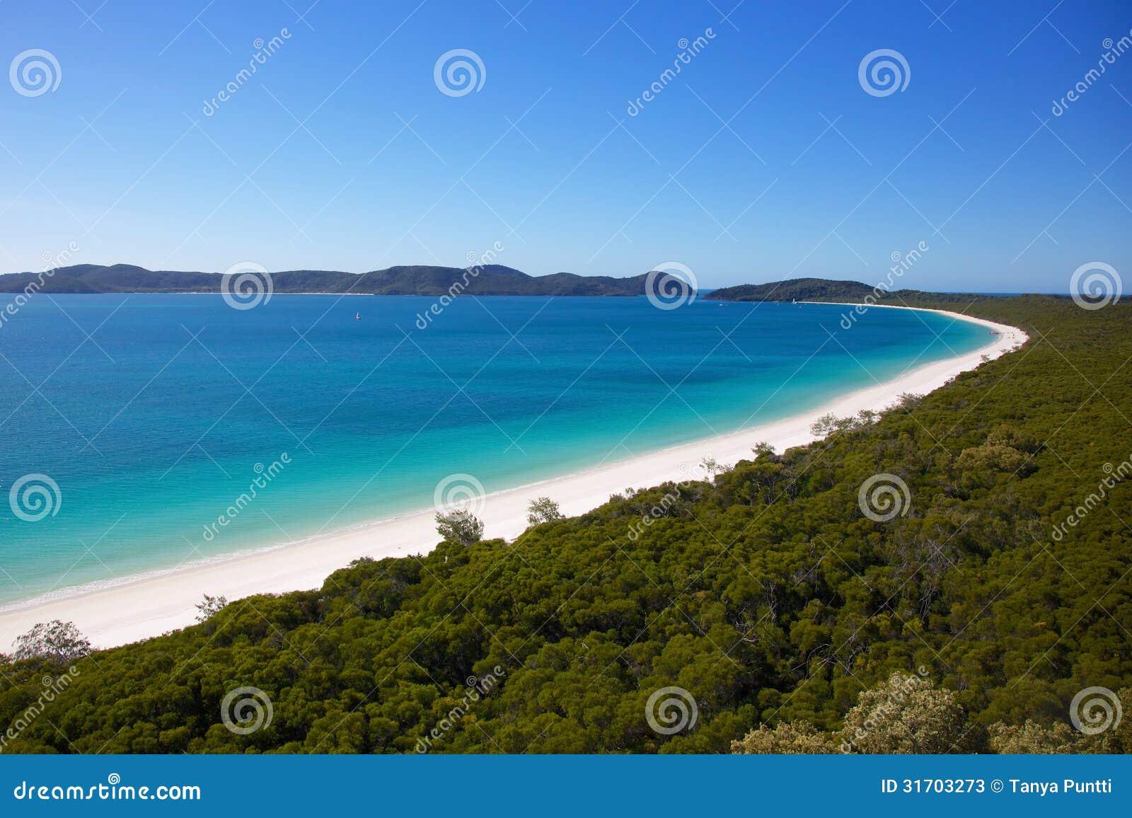 Παραλία Whitehaven σε Whitsundays