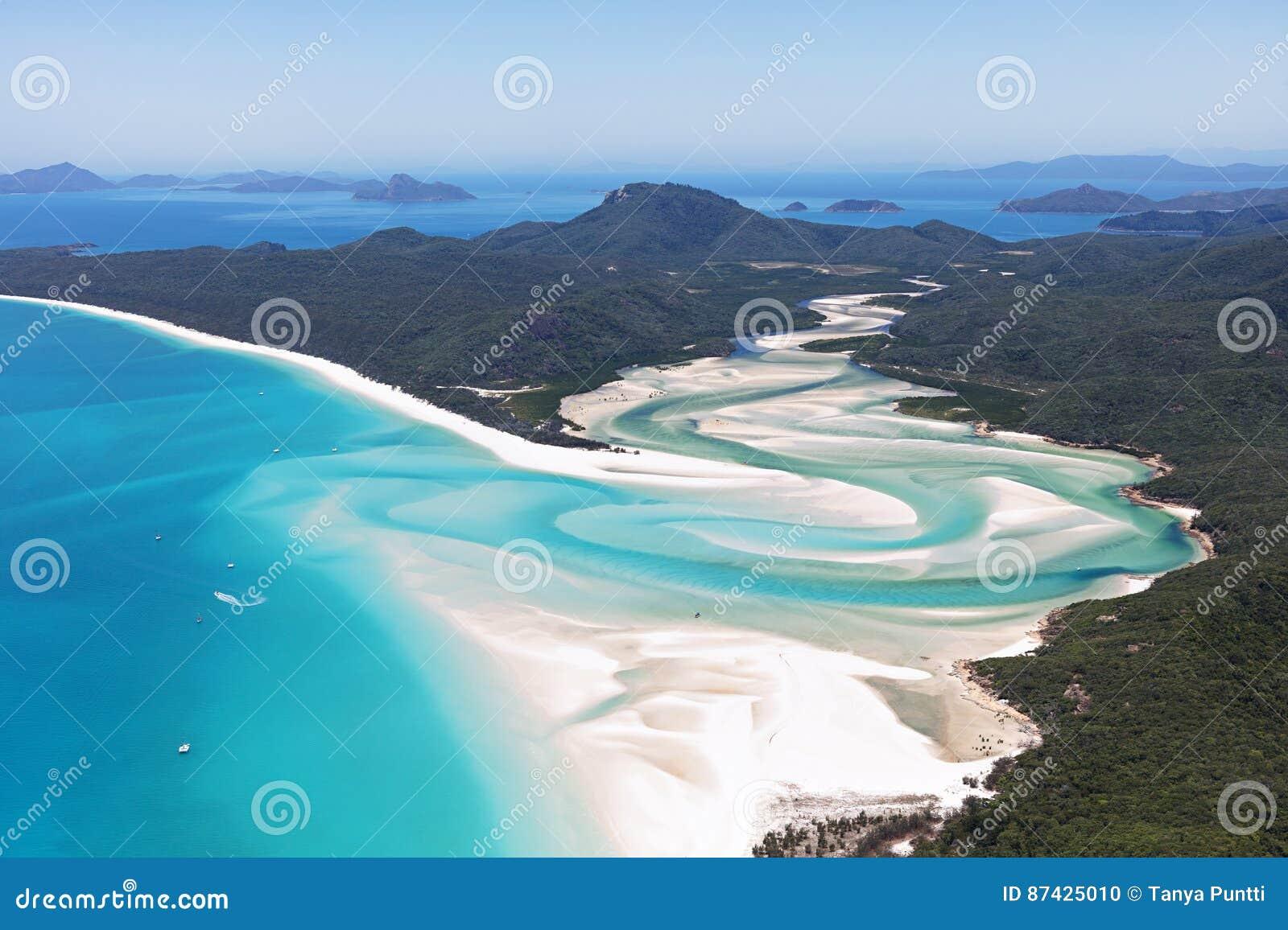 Παραλία Whitsundays Αυστραλία Whitehaven