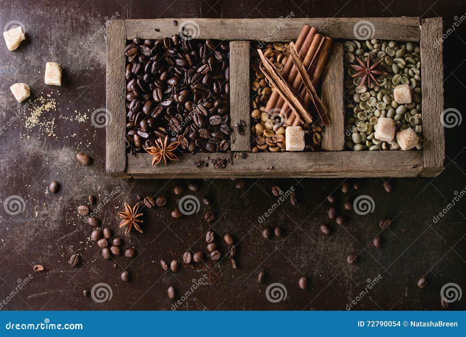 Παραλλαγή των φασολιών καφέ