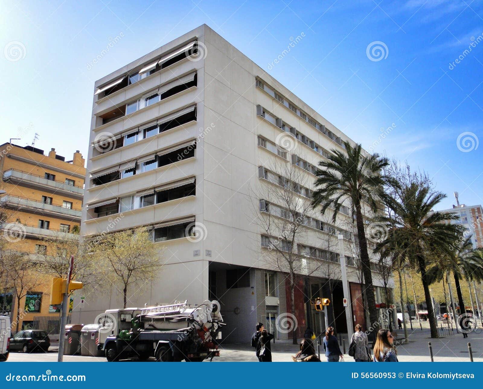 Download Παραδοσιακή αρχιτεκτονική της Βαρκελώνης, Ισπανία Εκδοτική Στοκ Εικόνες - εικόνα από αρχιτεκτονικής, αρχιπελαγών: 56560953