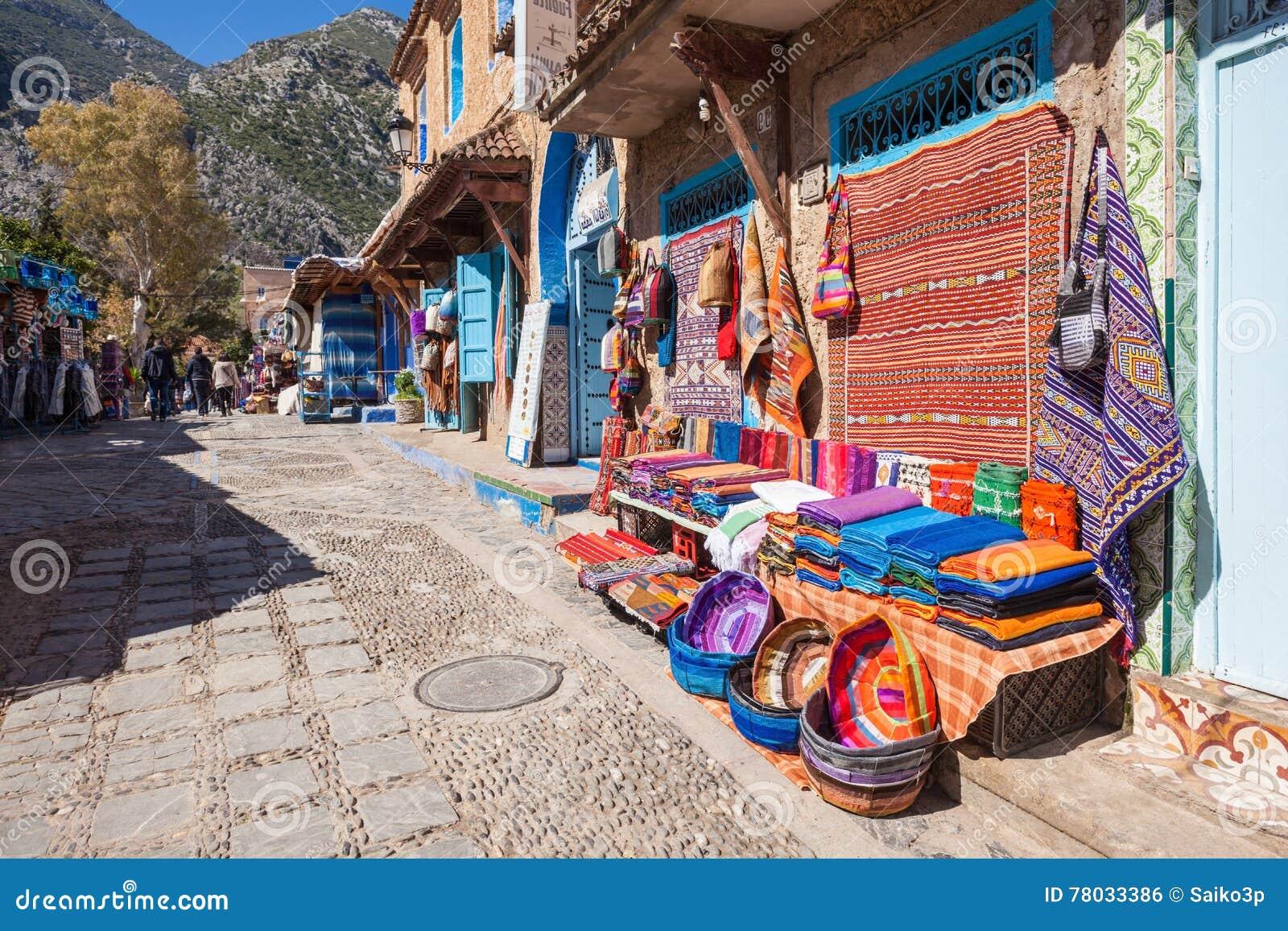 Παραδοσιακό μαροκινό κλωστοϋφαντουργικό προϊόν