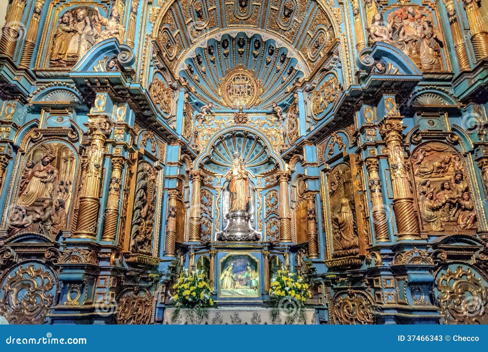 Παρεκκλησι Nuestra Senora de Λα Evangelizacion στον της Λίμα καθεδρικό ναό, Περού