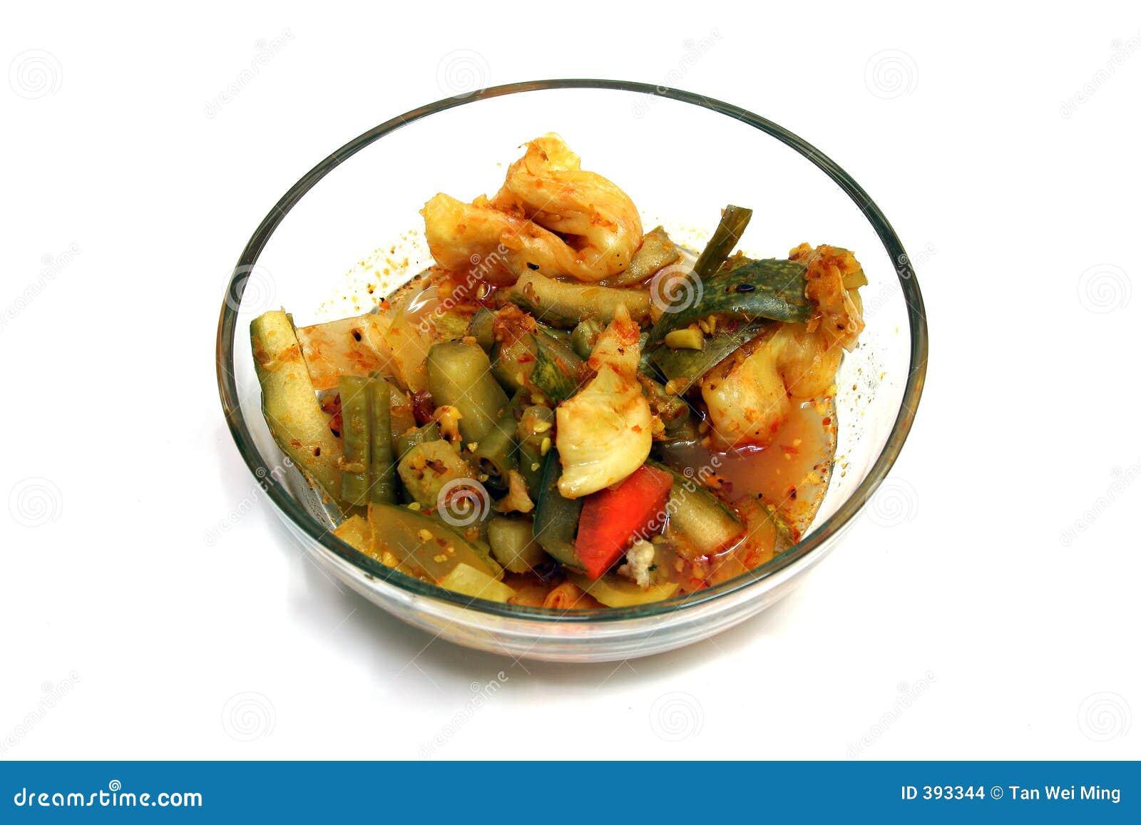 παστωμένα λαχανικά
