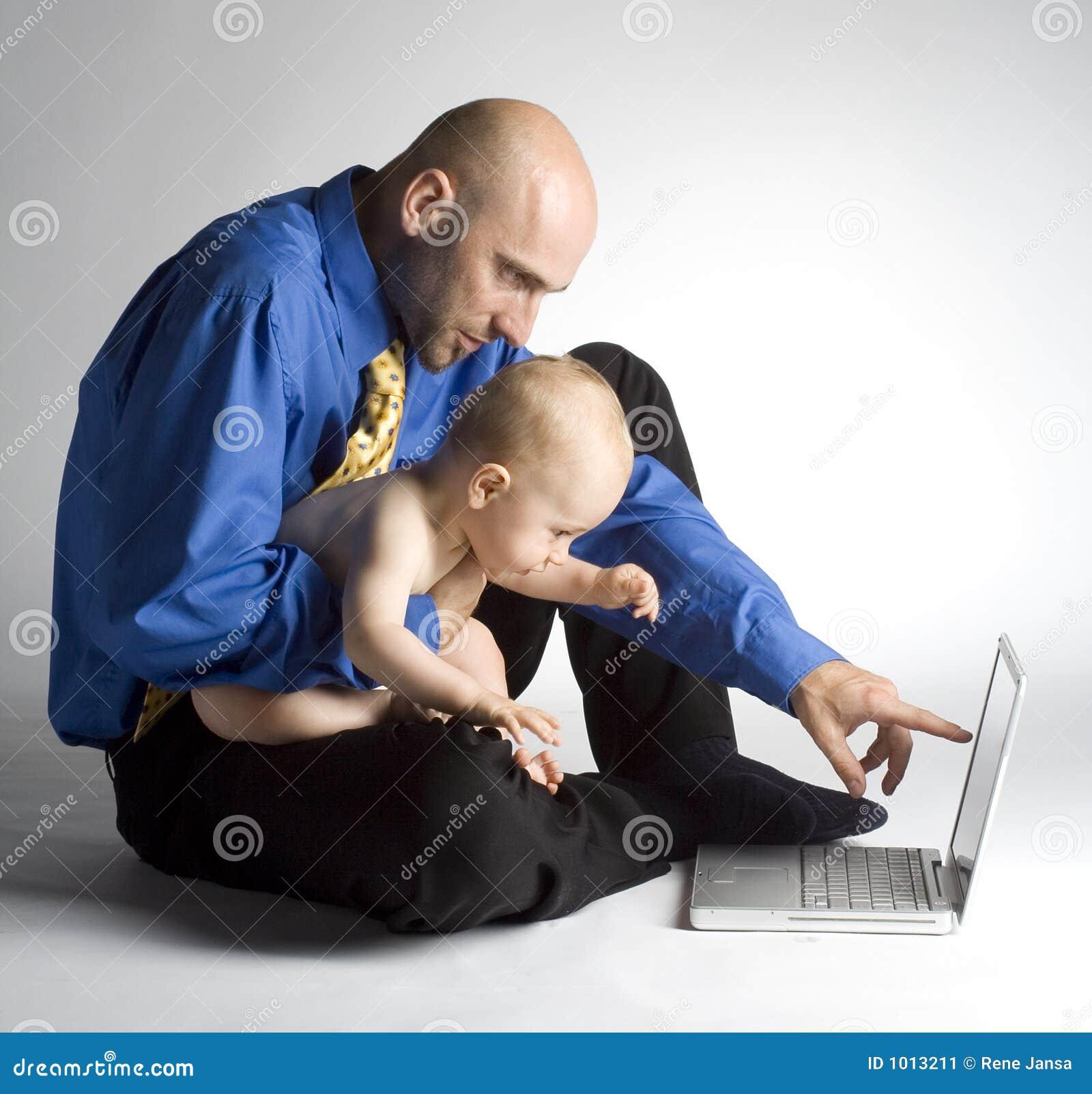 πατέρας ο παίζοντας γιος του