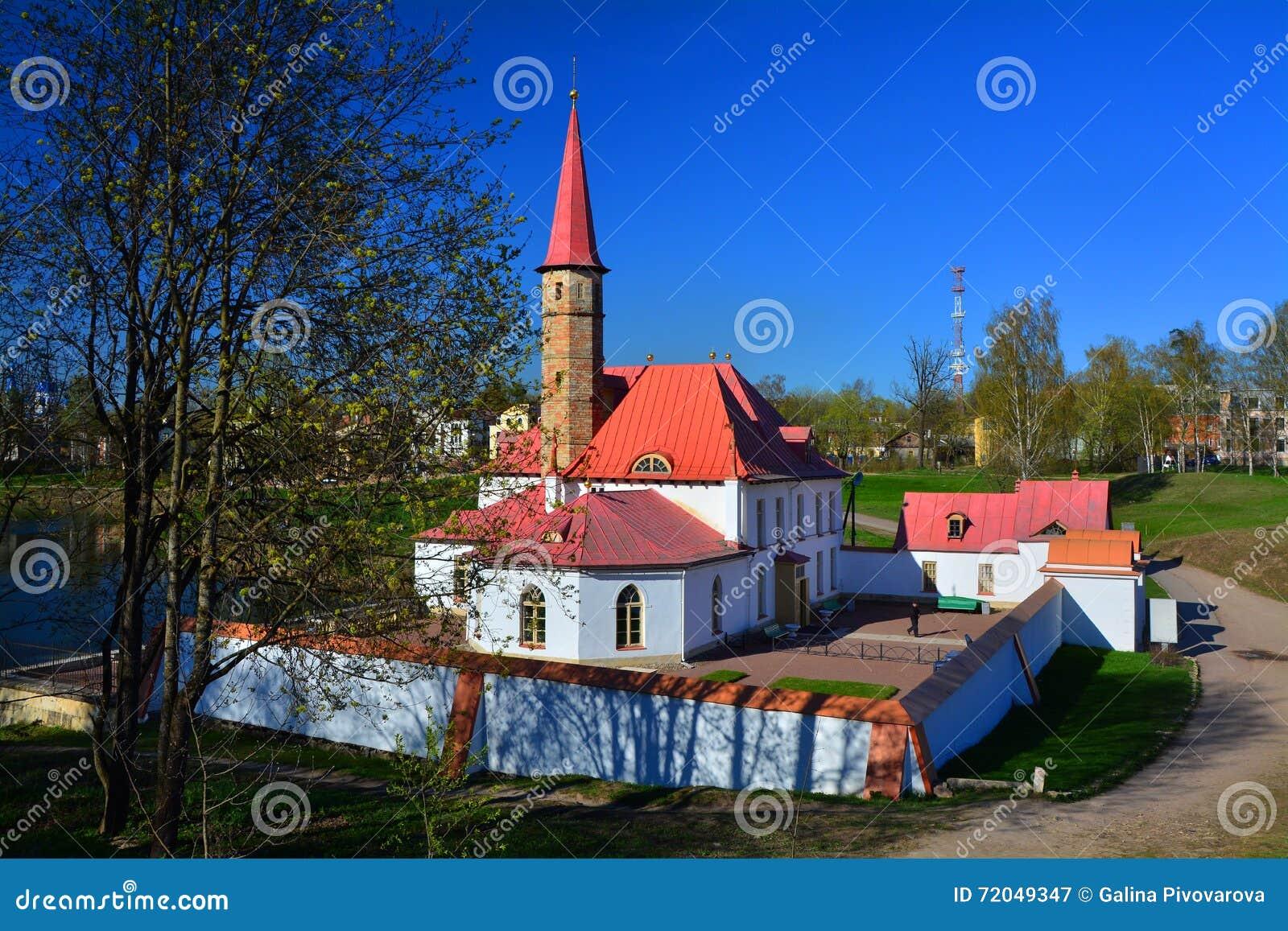 Παλάτι κοινοβίων Γκάτσινα Πετρούπολη Ρωσία ST