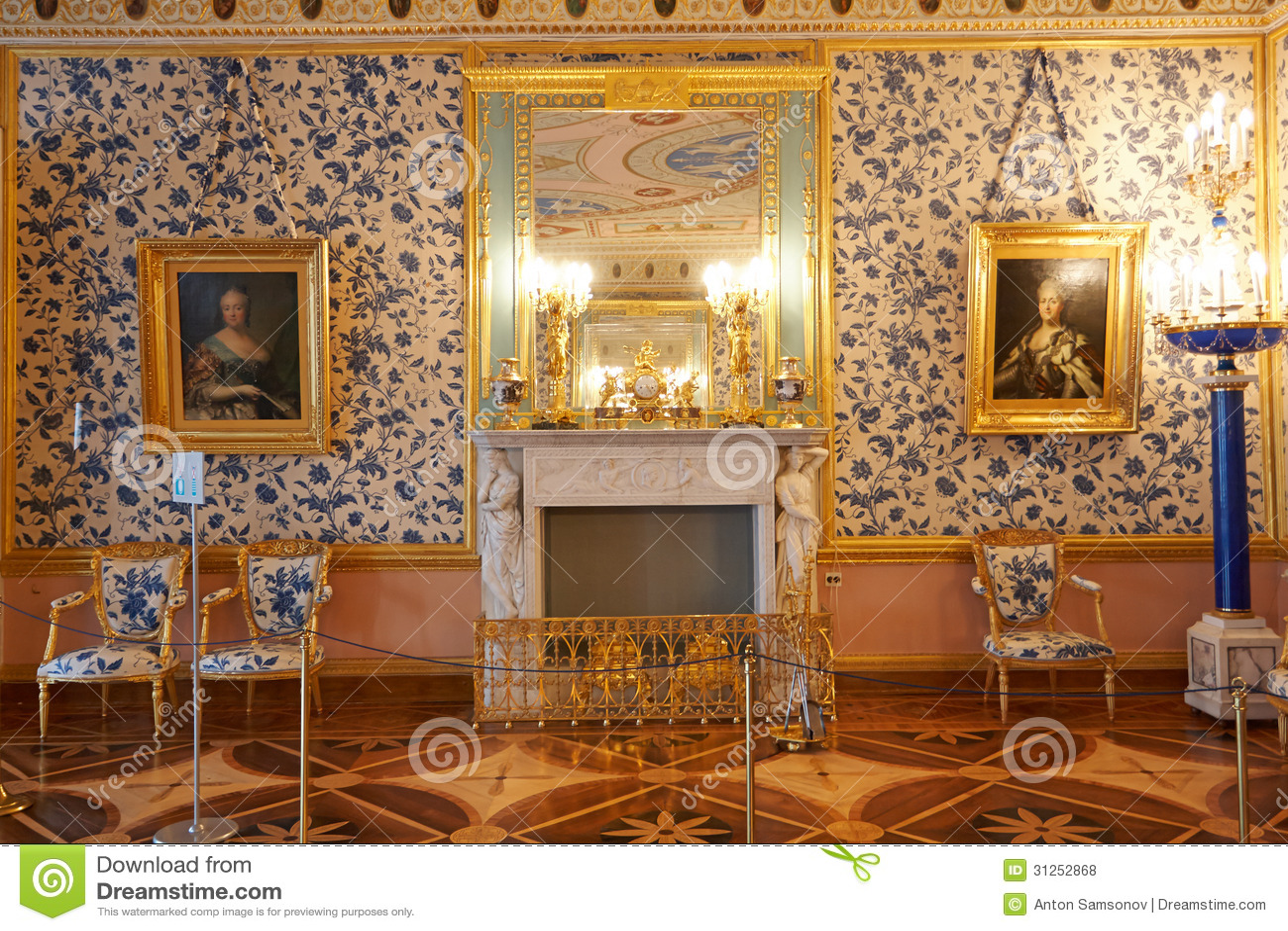 Παλάτι της Catherine μέσα