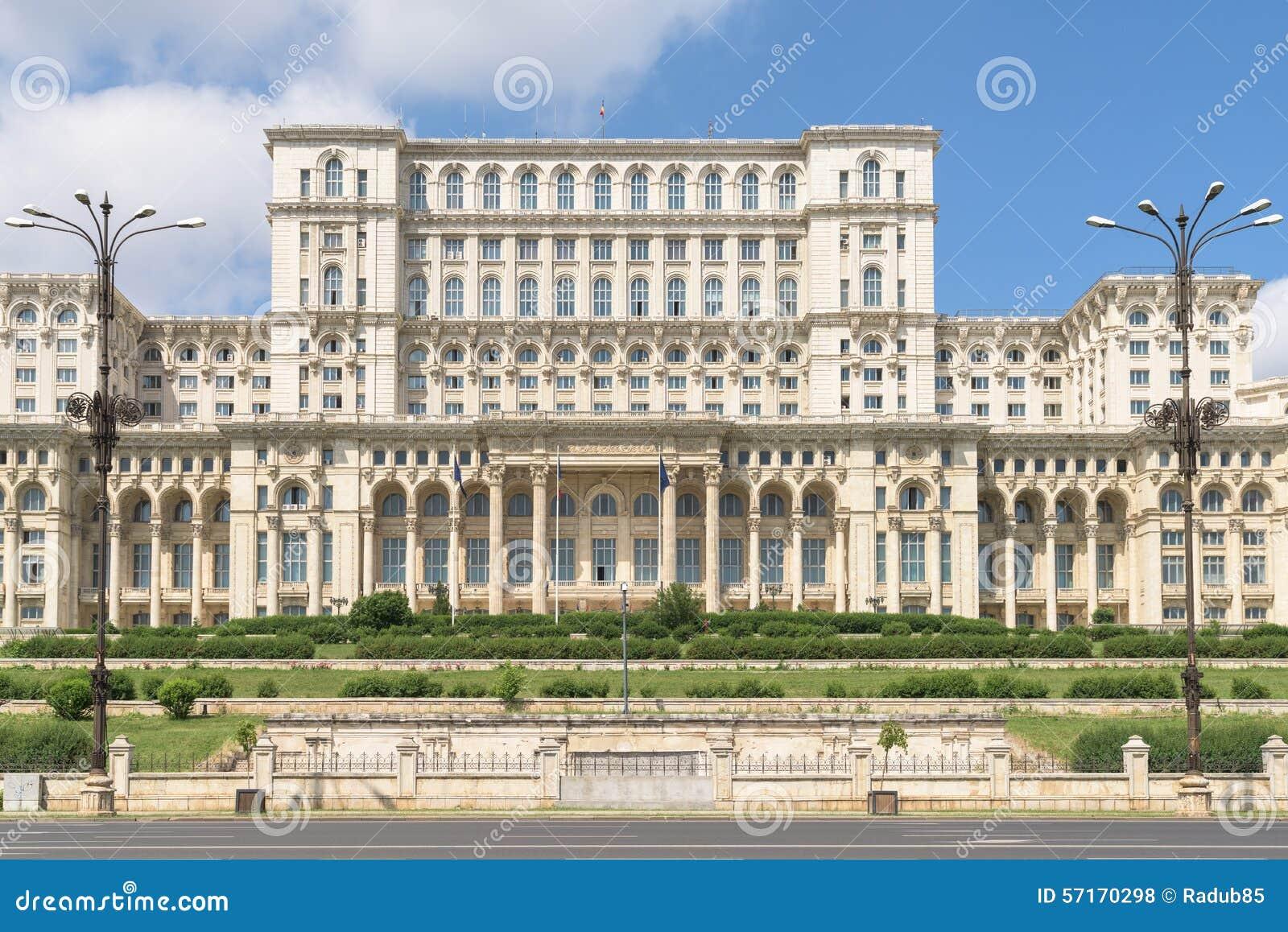 Παλάτι του Κοινοβουλίου (Casa Poporului) ή σπίτι των ανθρώπων στο Βουκουρέστι