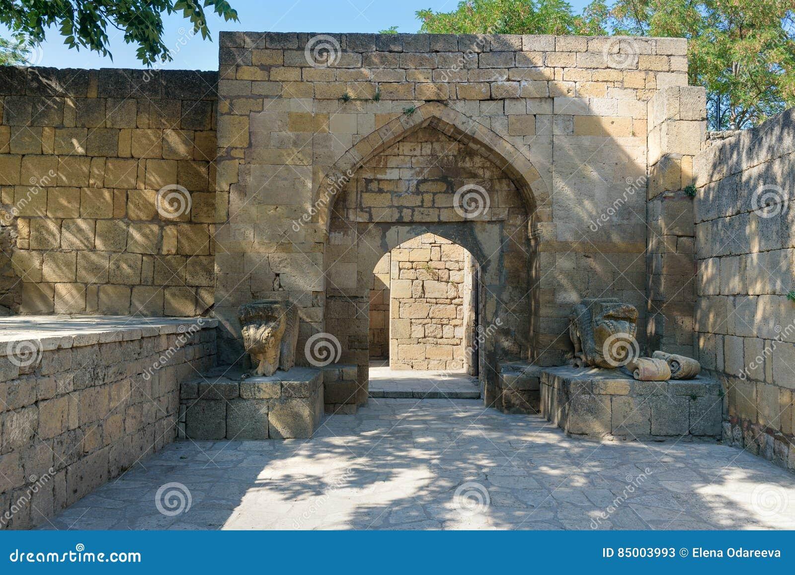 Παλάτι Khan ` s στο φρούριο naryn-Kala Derbent