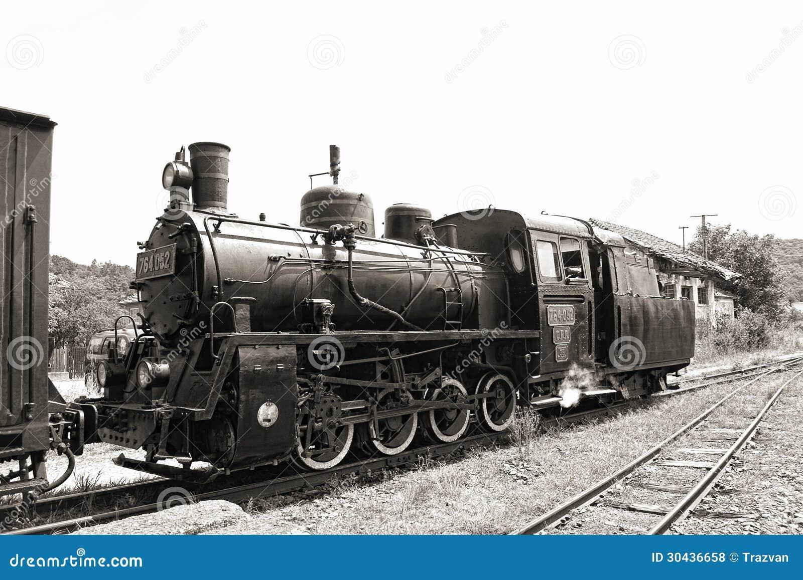 Παλαιά ατμομηχανή ατμού