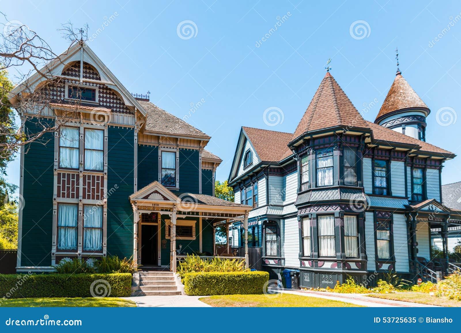 Παλαιά βικτοριανά σπίτια