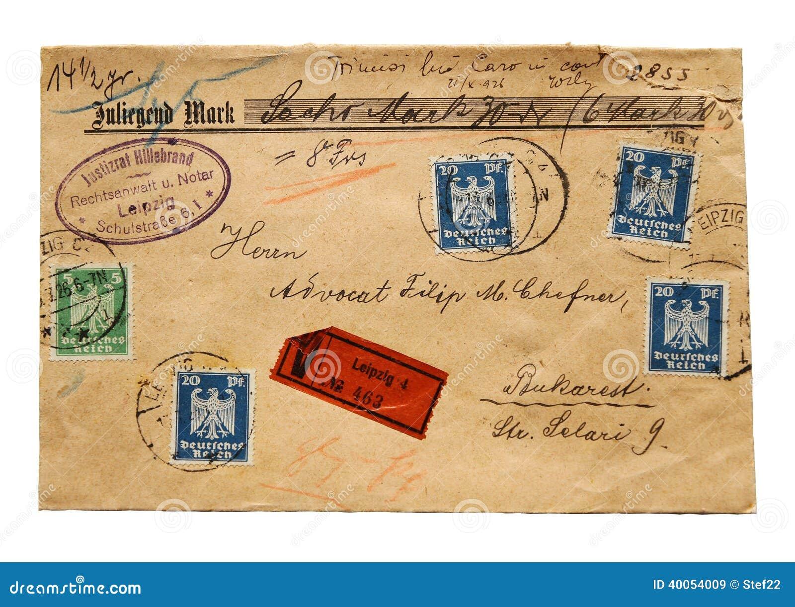 Παλαιά επιστολή