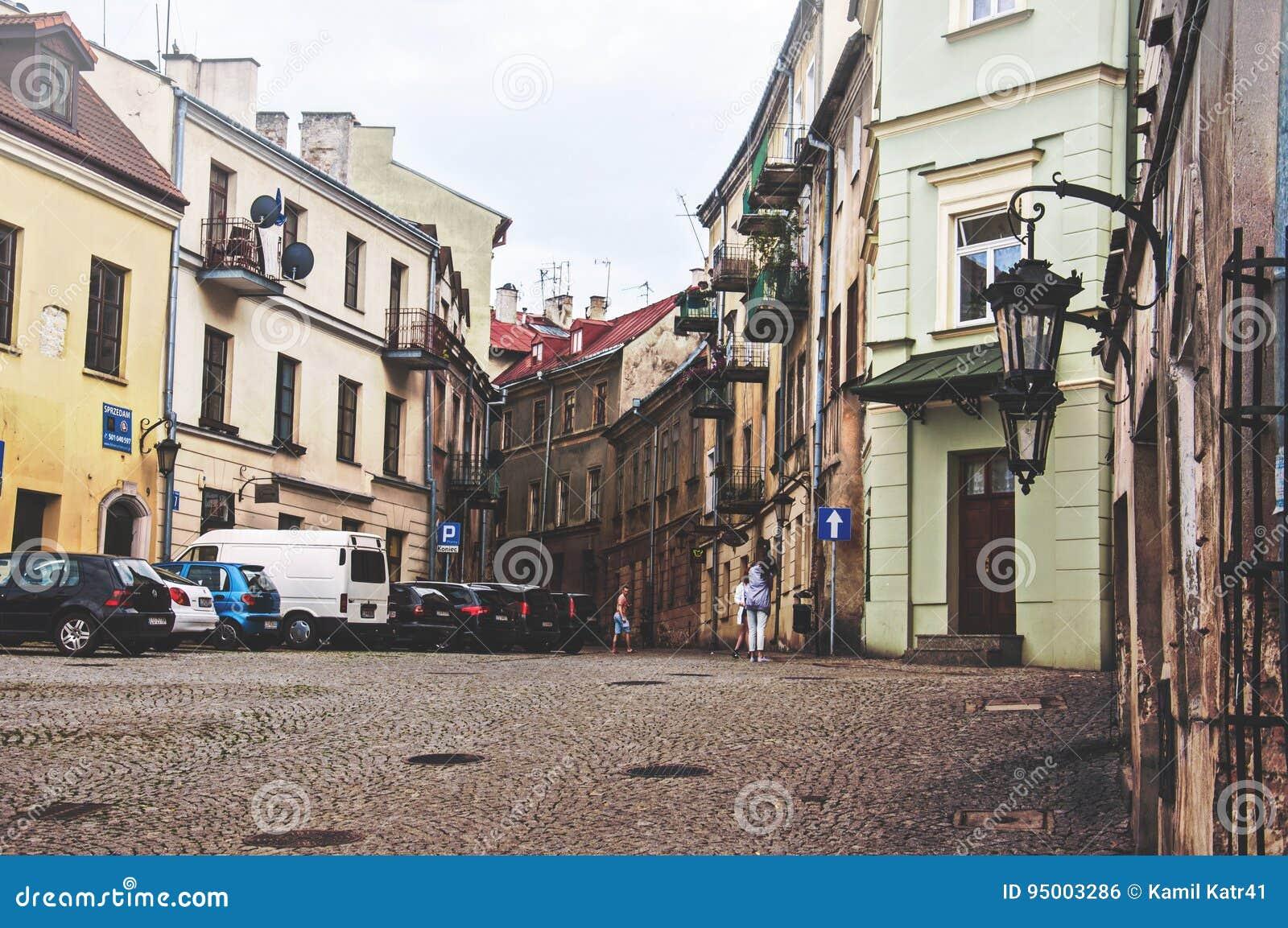 Παλαιά κωμόπολη ι κέντρο πόλεων του Lublin