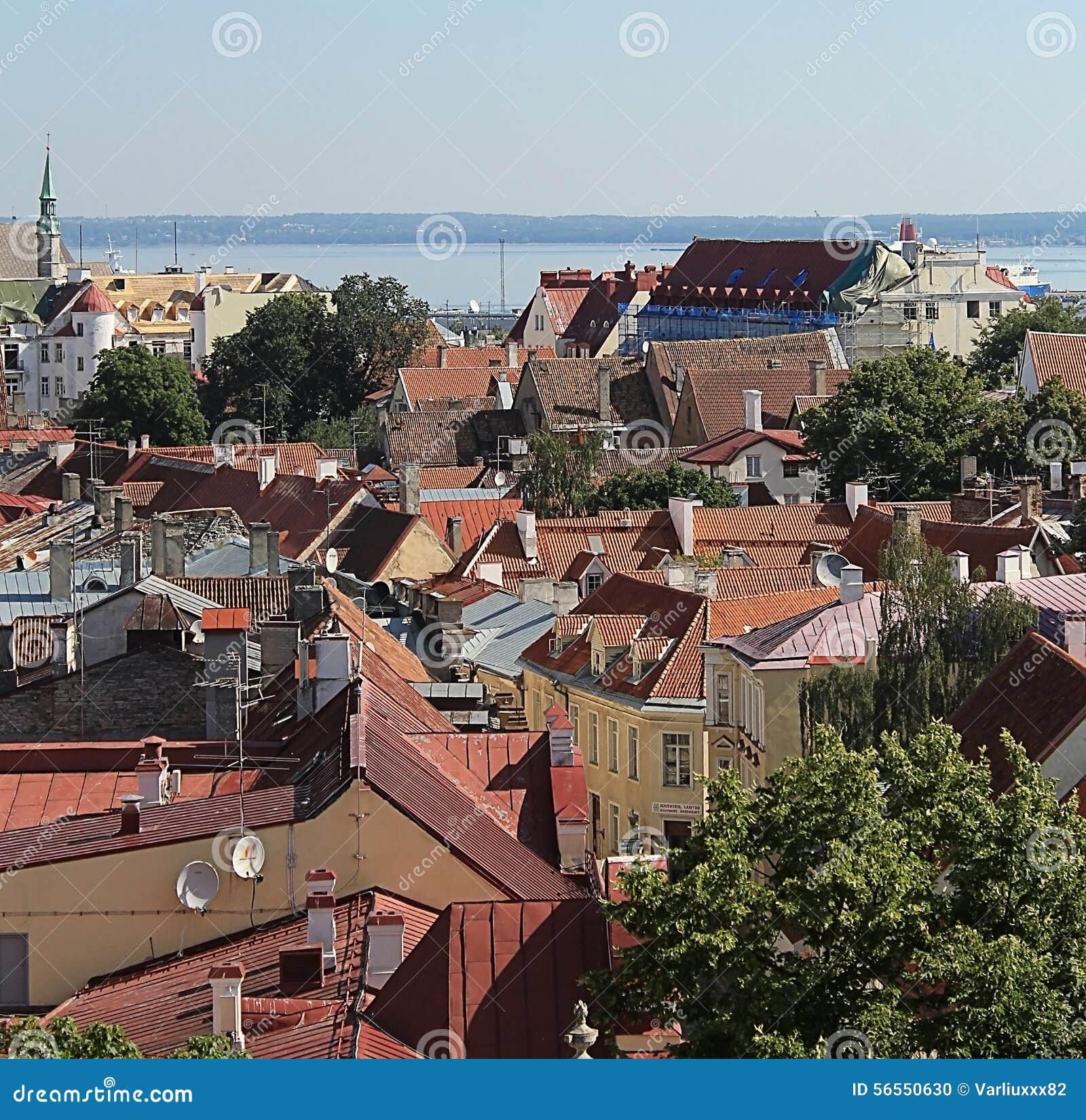 Download παλαιά πόλη του Ταλίν εκδοτική εικόνα. εικόνα από χώρες - 56550630